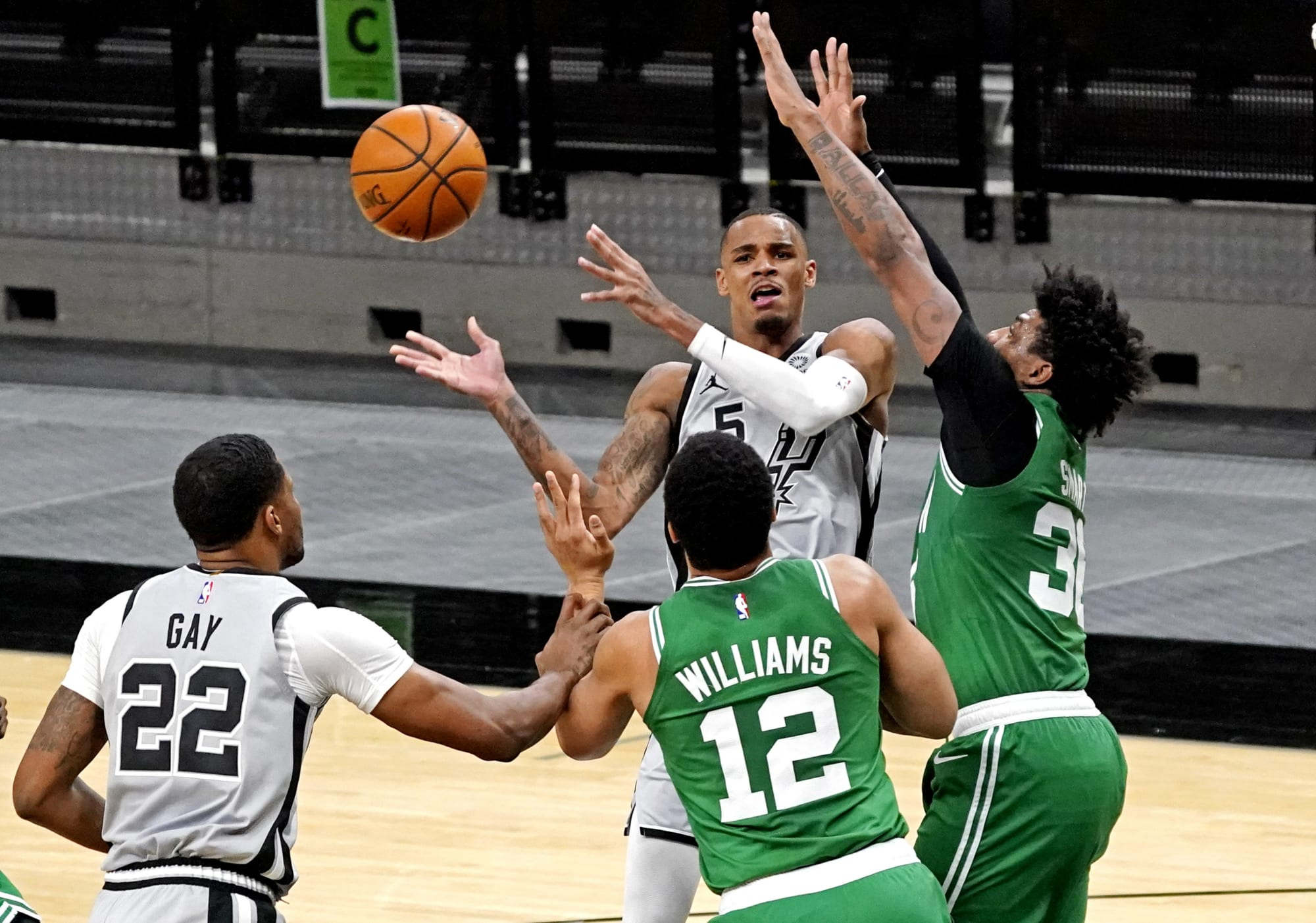 San Antonio Spurs: 3 Things that stood out in comeback win over Celtics