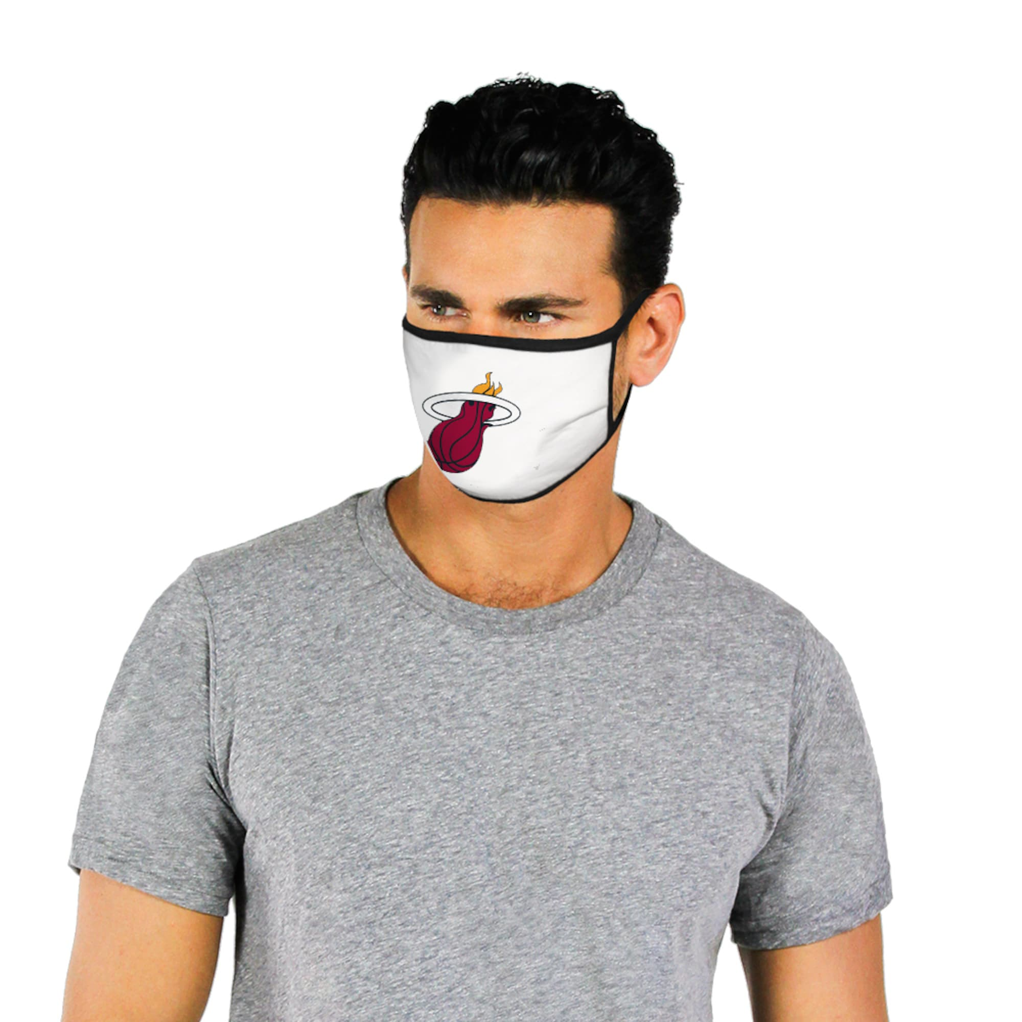 Support Your Miami Heat For Charity With These Nba Face Coverings