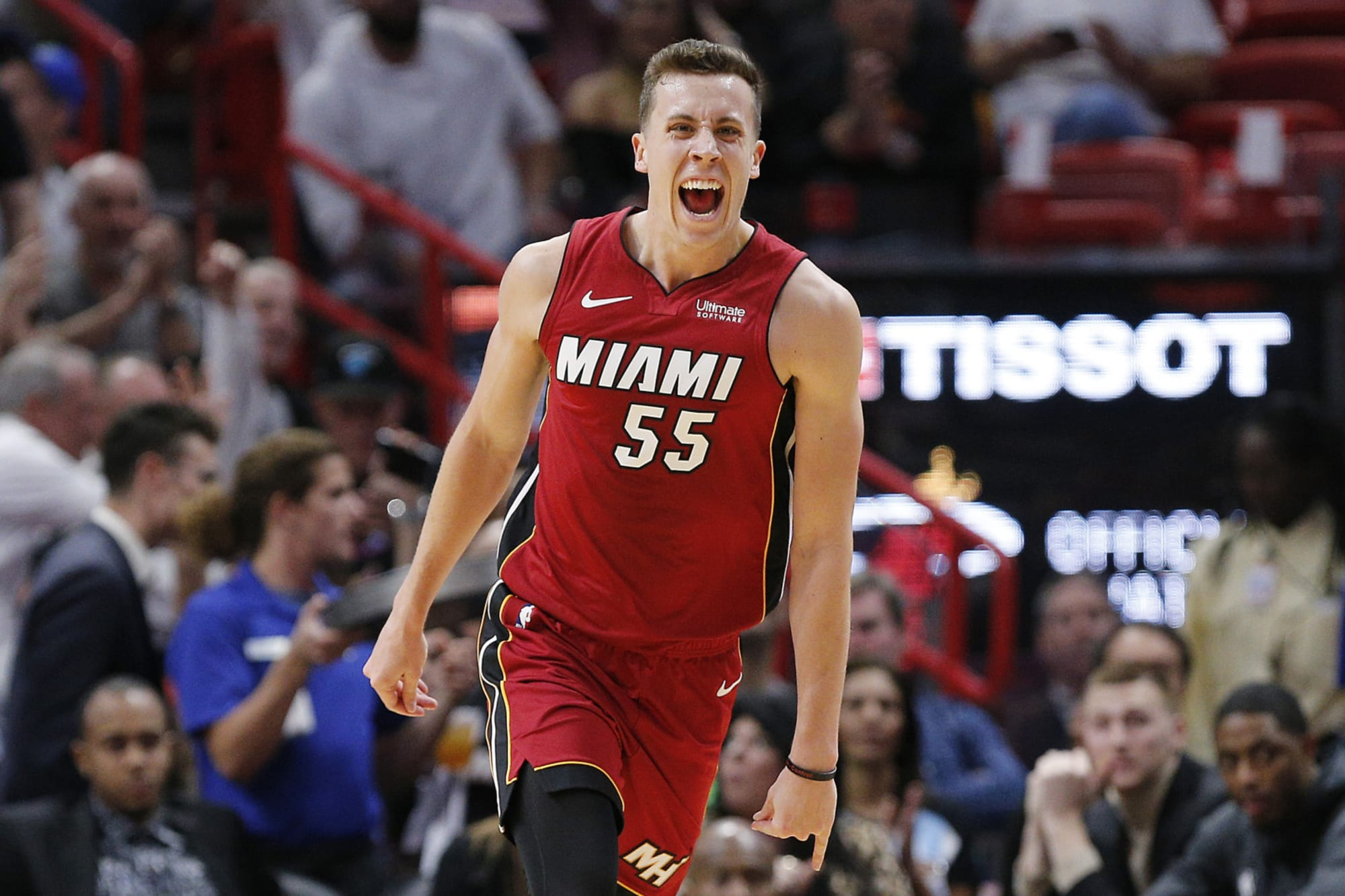 Miami Heat Duncan Robinson Should Be Least Impacted By Layoff