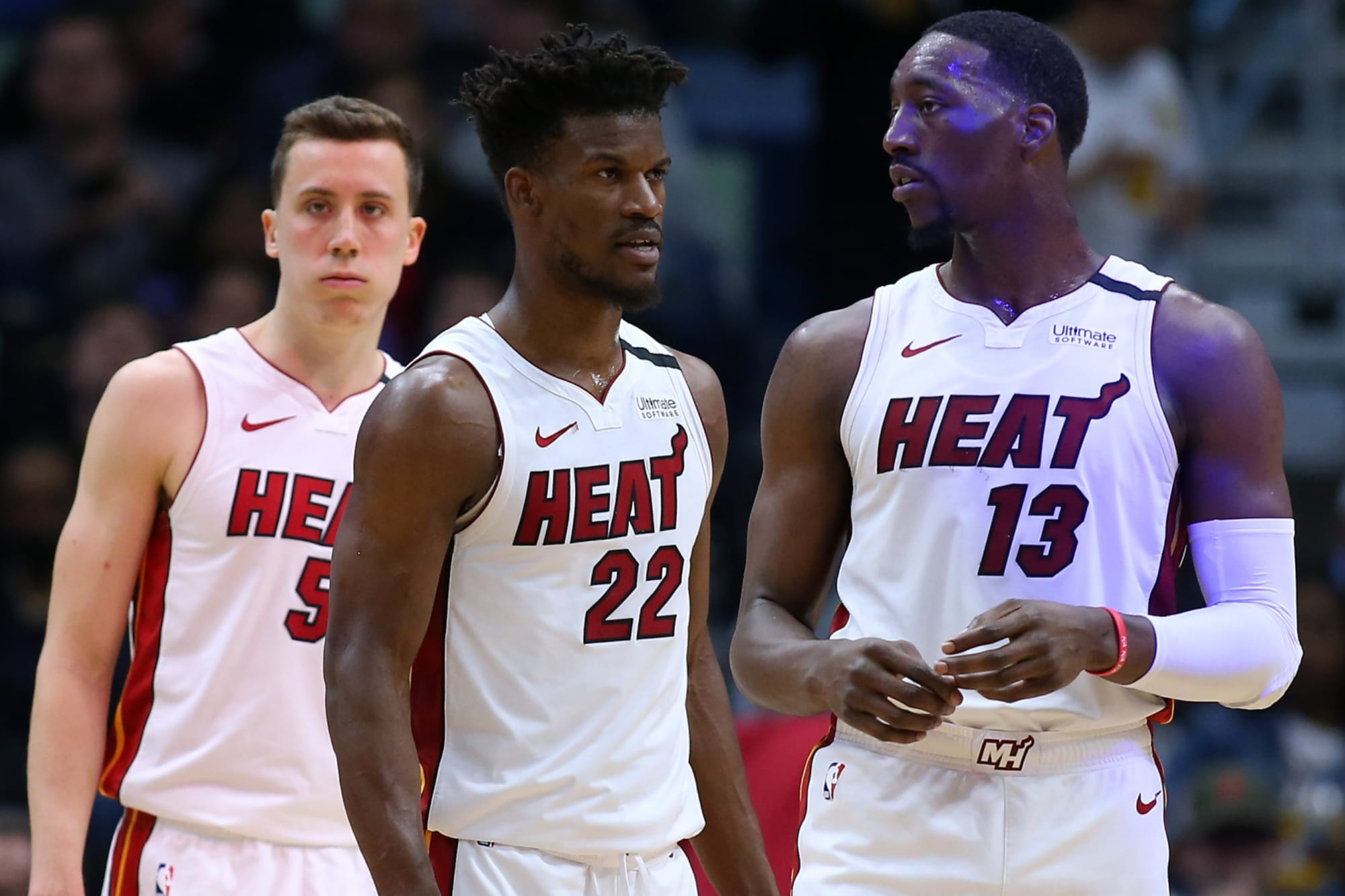 Miami Heat Protecting Jimmy Butler Bam Adebayo Duncan Robinson