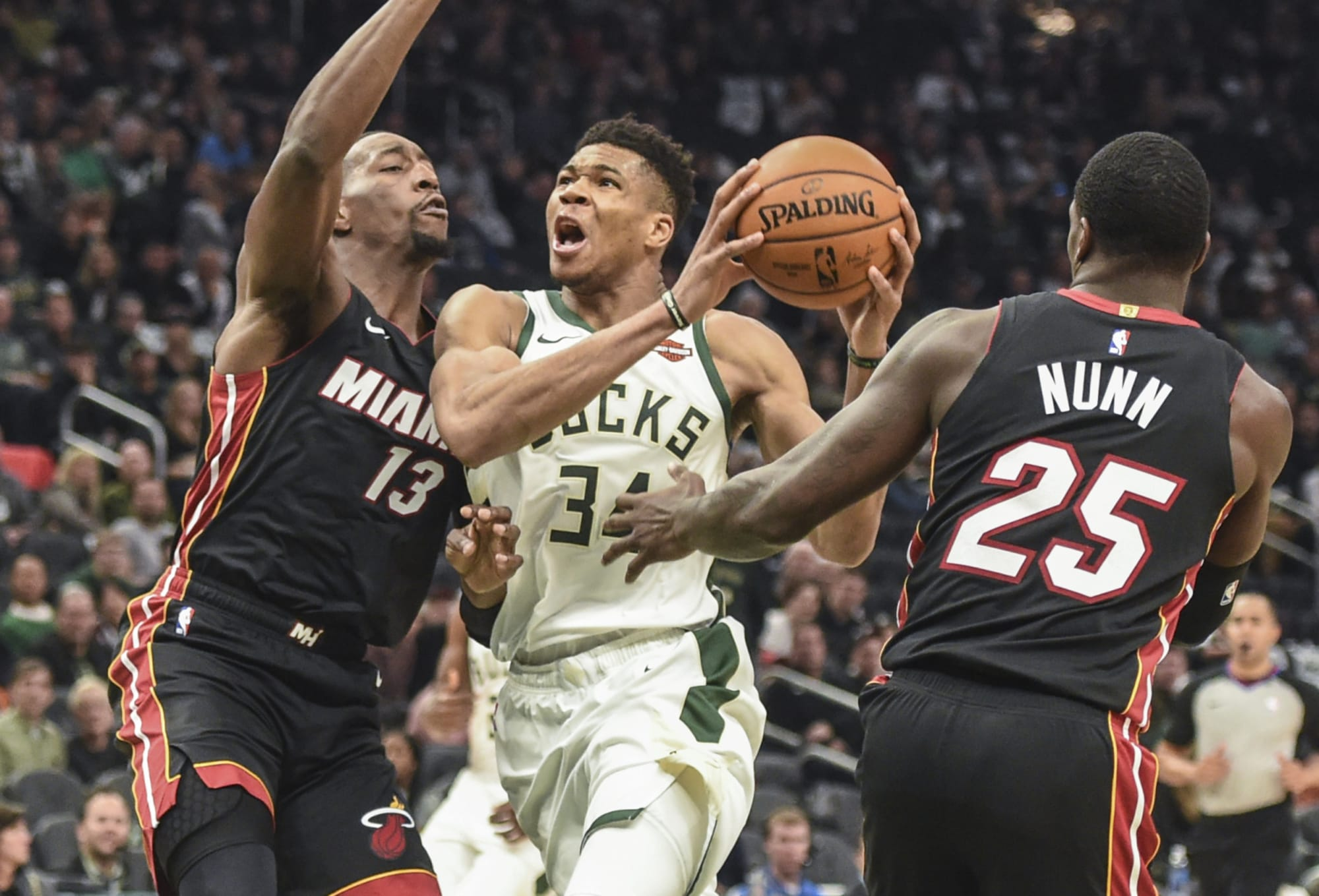 For the Miami Heat, it's Giannis or the field and that's the question