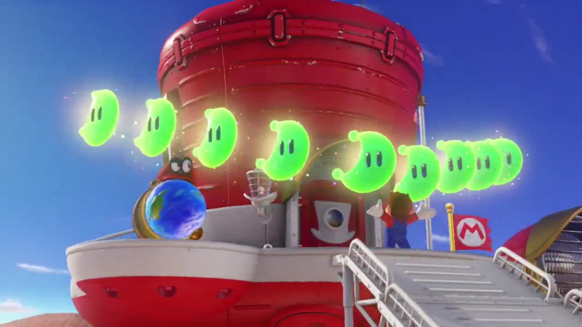 What Happens If You Collect All The Power Moons In Super Mario