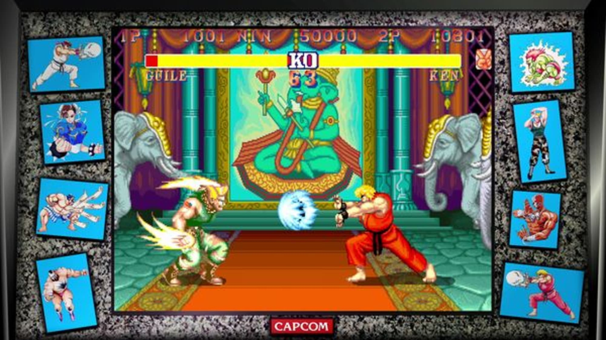 Street Fighter 30th Anniversary Collection Review No Quarter S