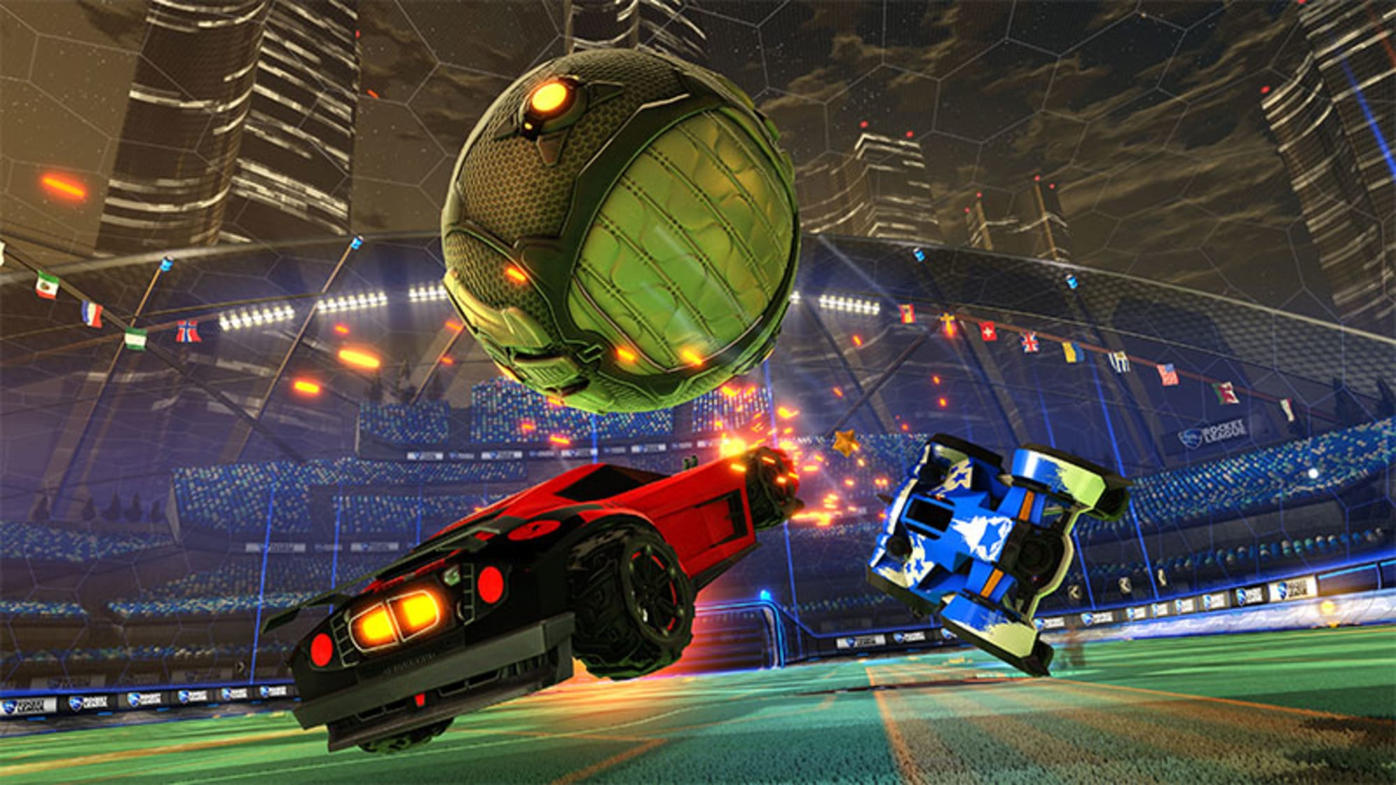 What Rocket League going free to play means for you if you own the game