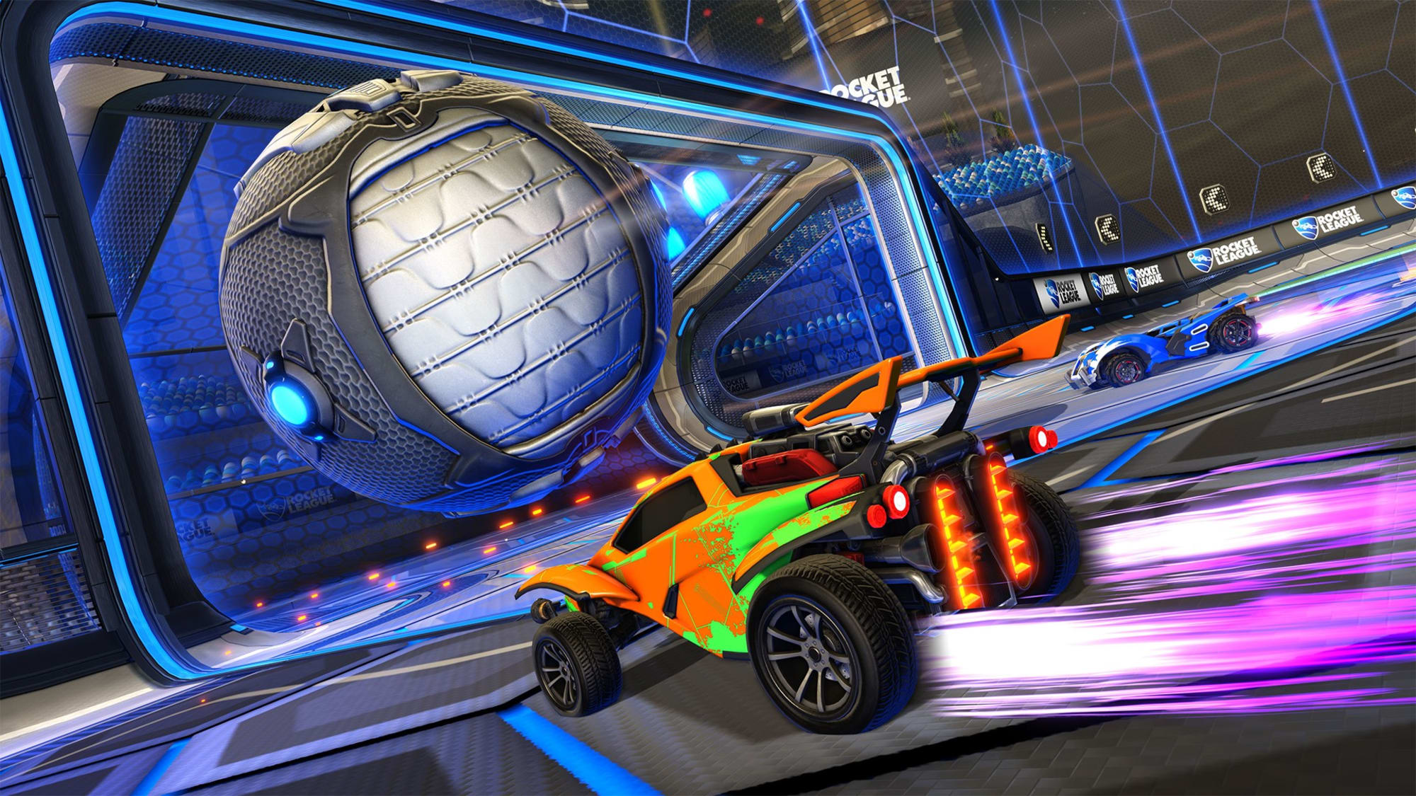 Rocket League Dropshot Rumble Kicks Off Limited Time May Event