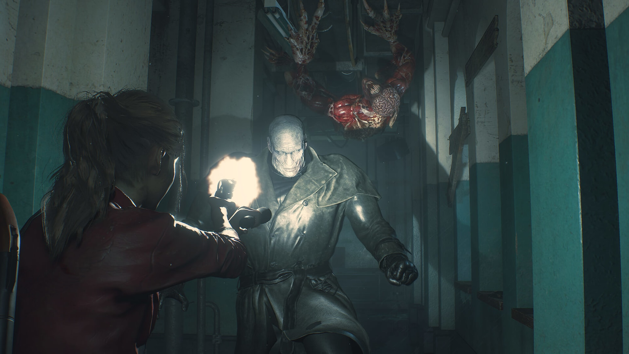 Resident Evil 2 S Mr X Tyrant Is Officially Pissing Off The Internet