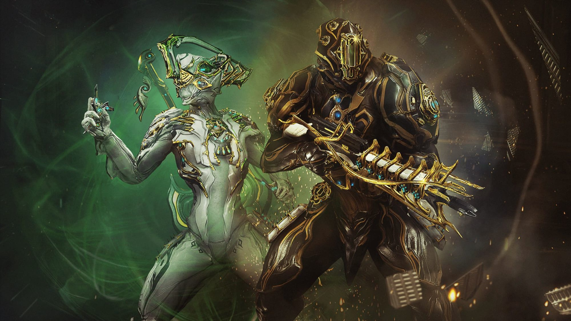 Warframe: How to farm for and build Nyx and Rhino Prime