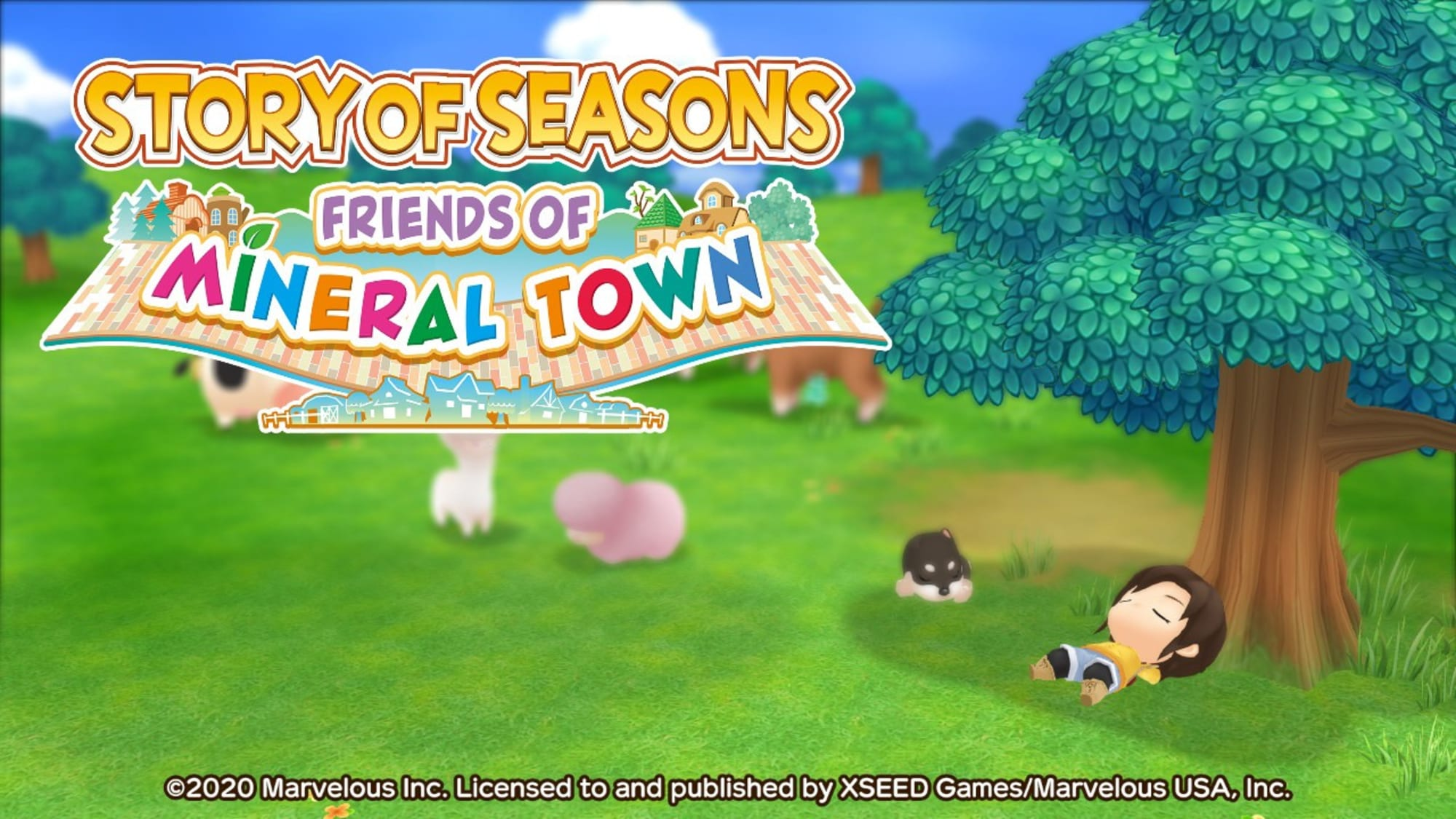 Story of Seasons: Friends of Mineral Town first impressions