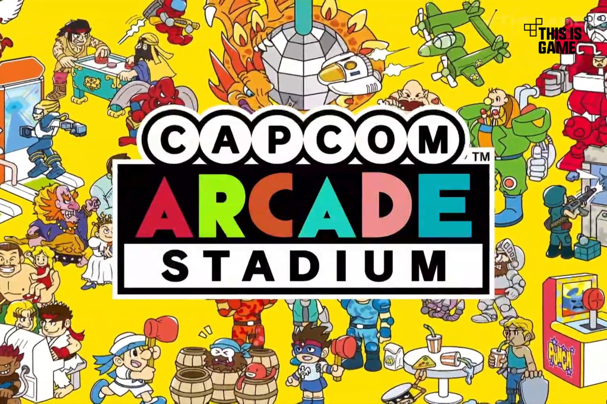 Capcom Arcade Stadium review: Worth every token