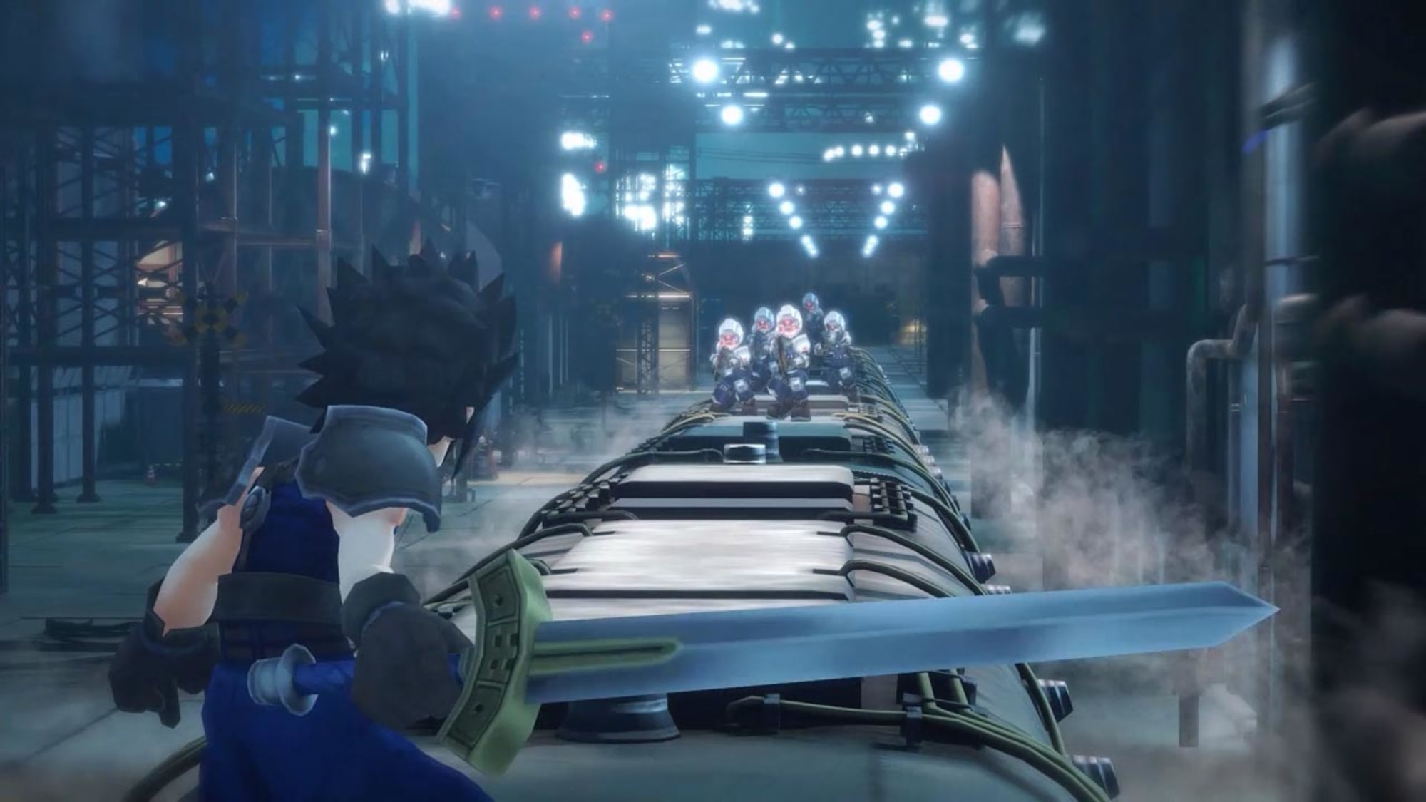 Final Fantasy VII Ever Crisis is a remake of the entire FFVII timeline