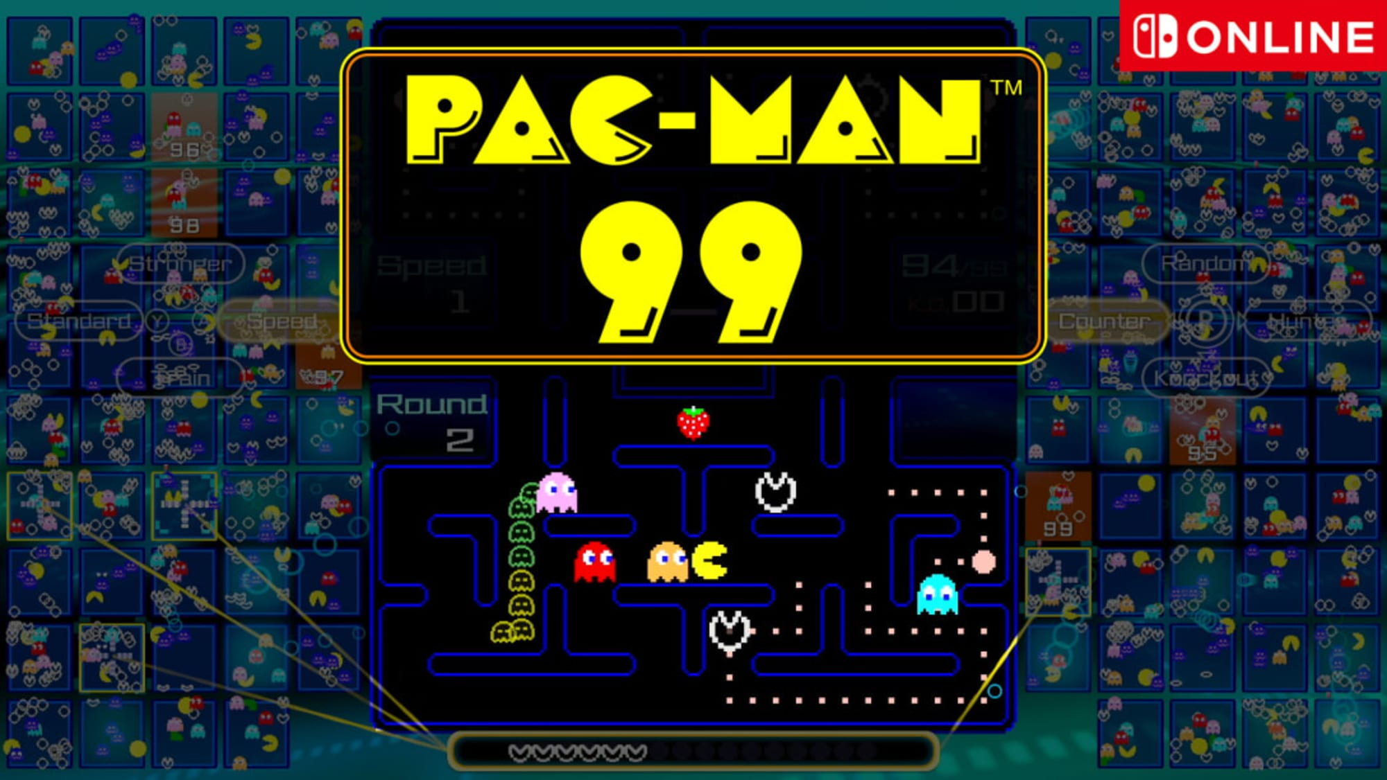 Pac-Man 99 is a fun but confusing nightmare