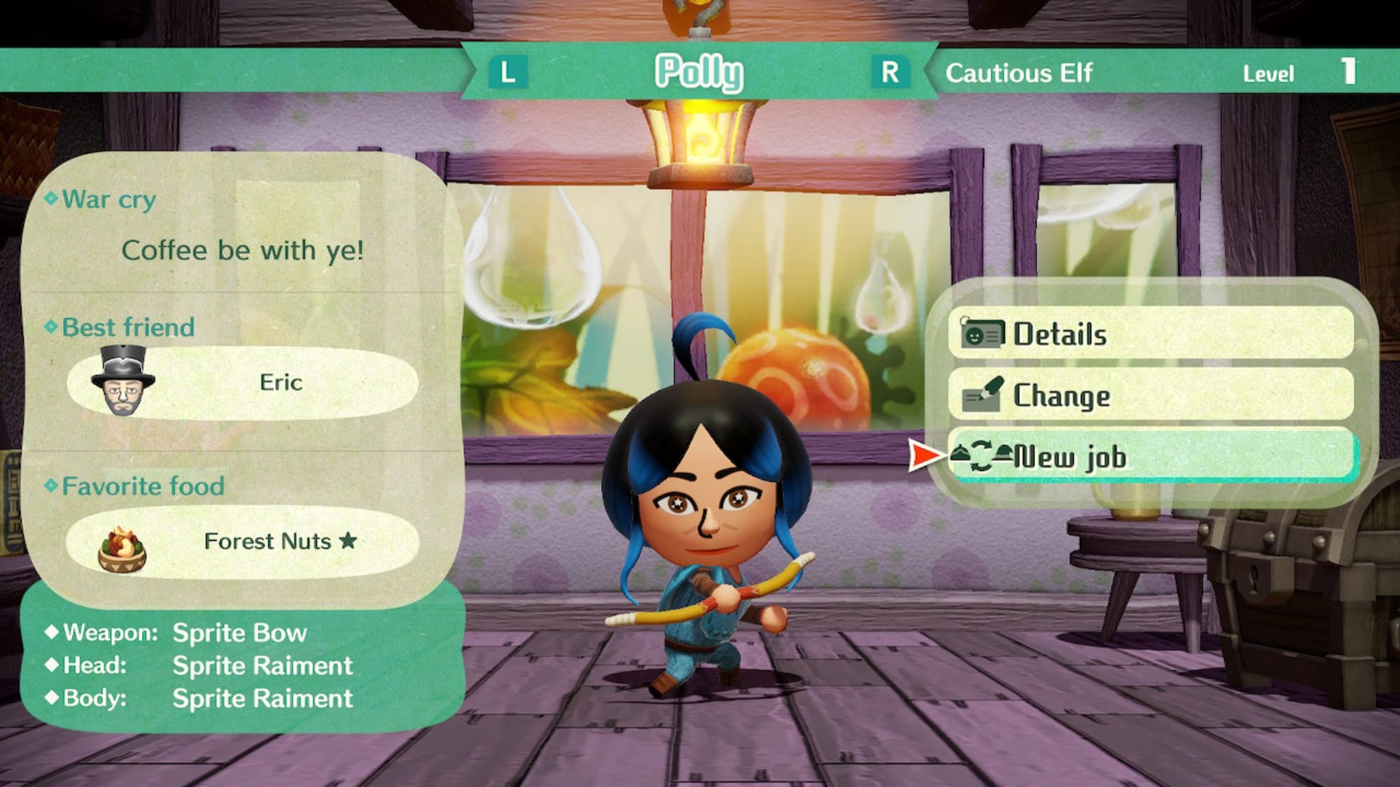Miitopia: How to unlock the Elf Class