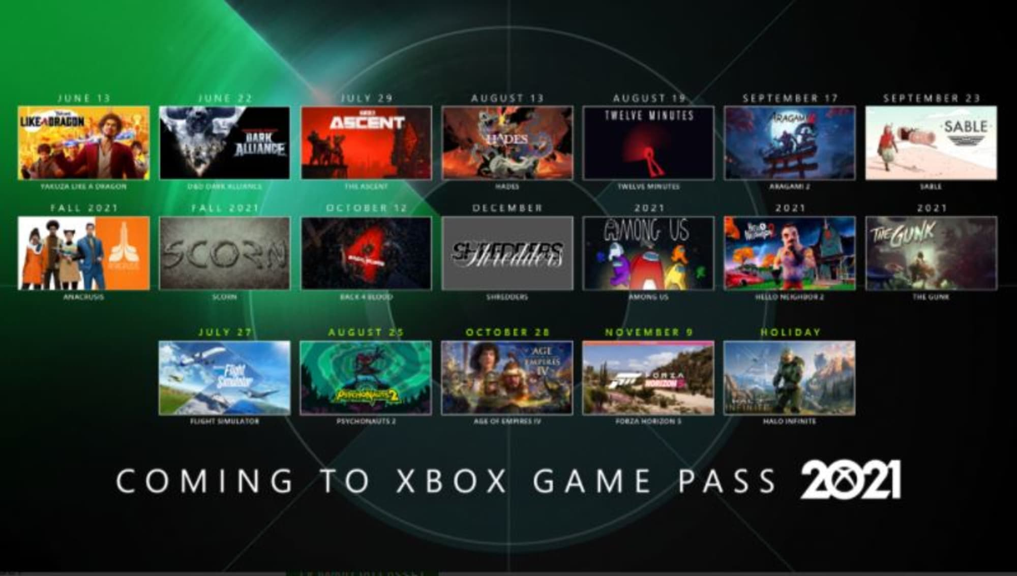 13 more titles coming to Xbox Game Pass over the next two weeks