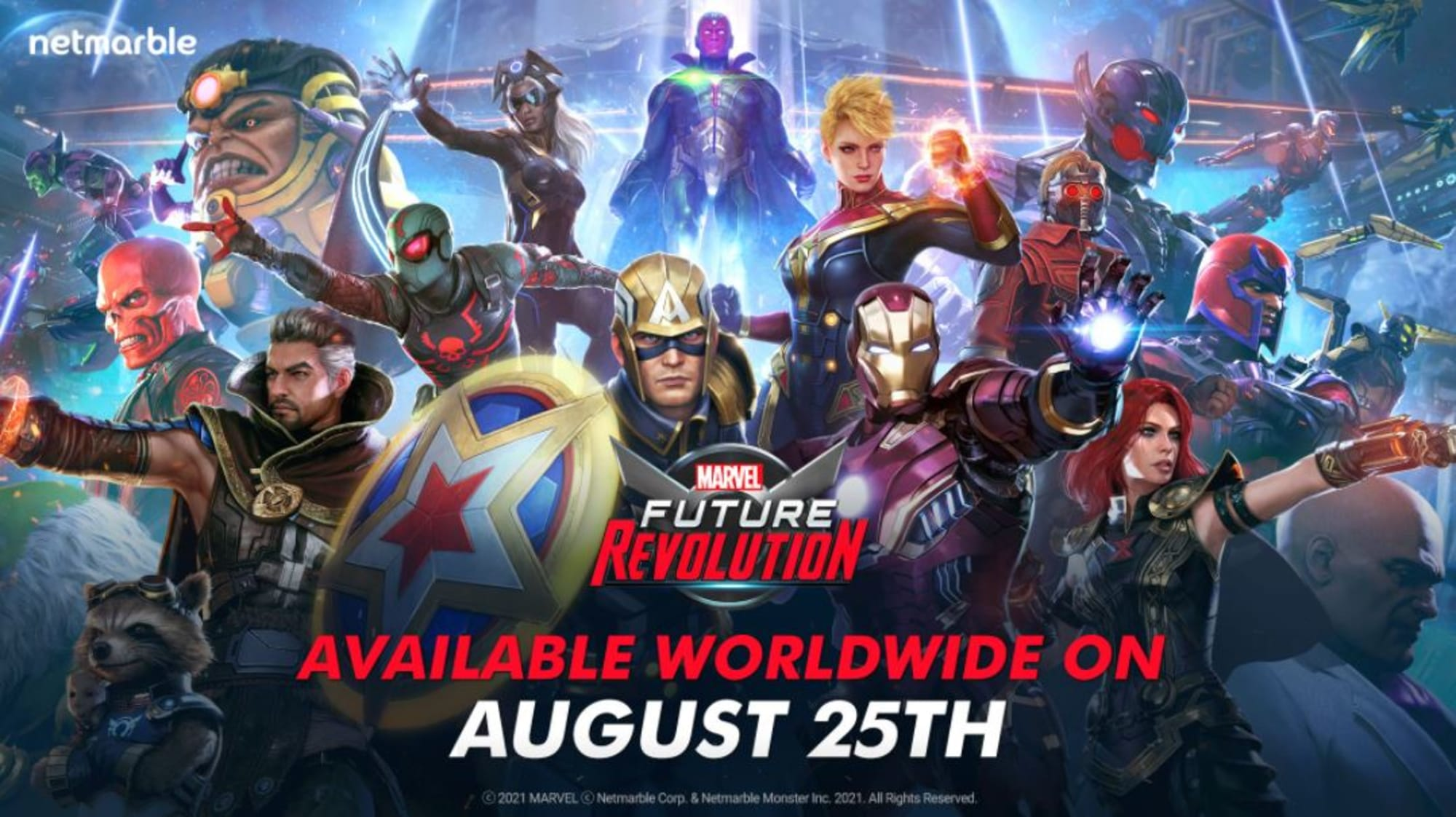 Netmarble's MARVEL Future Revolution should come to consoles