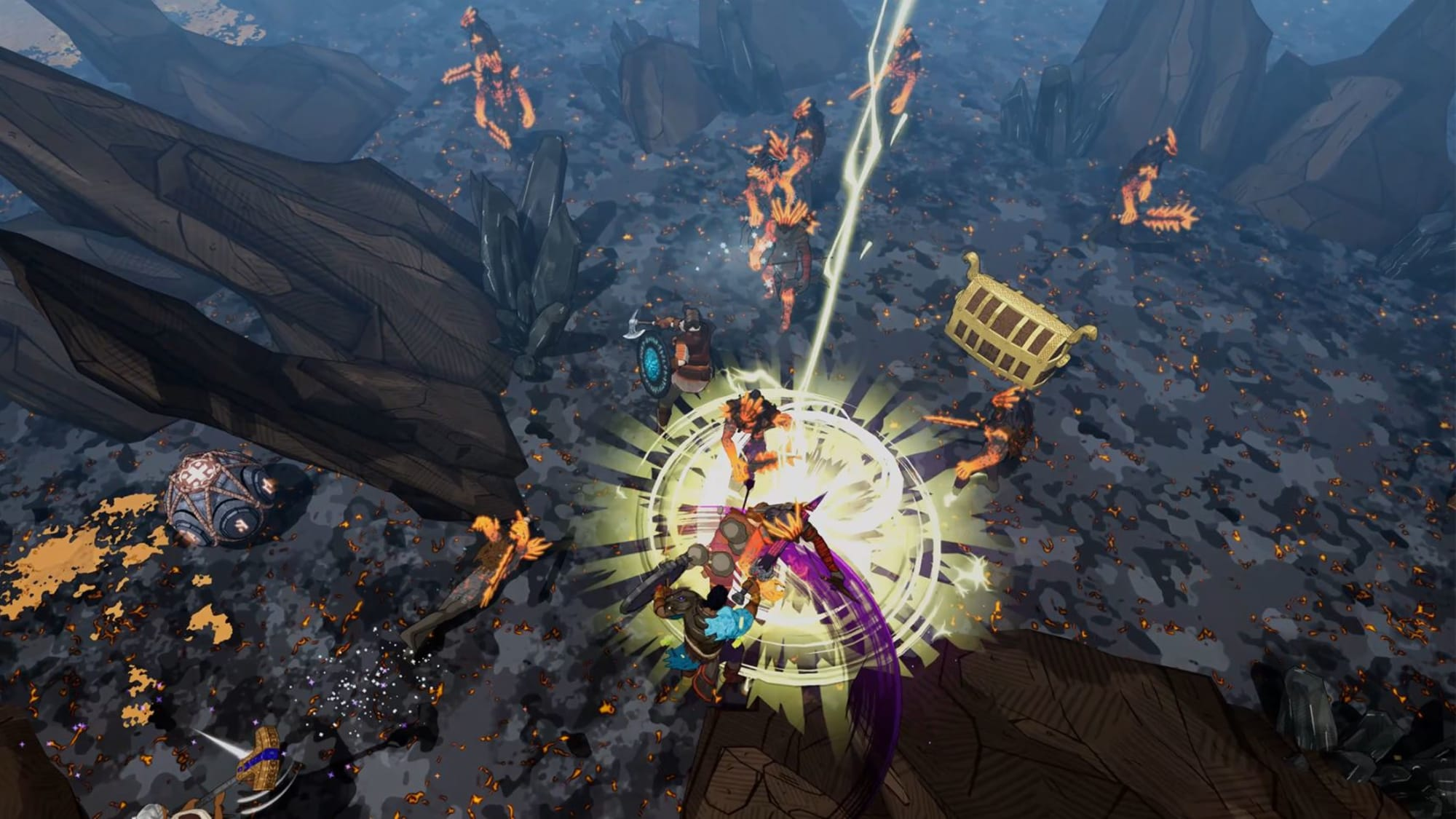 Tribes of Midgard puts your co-op survival skills to the test on PS5 and PC