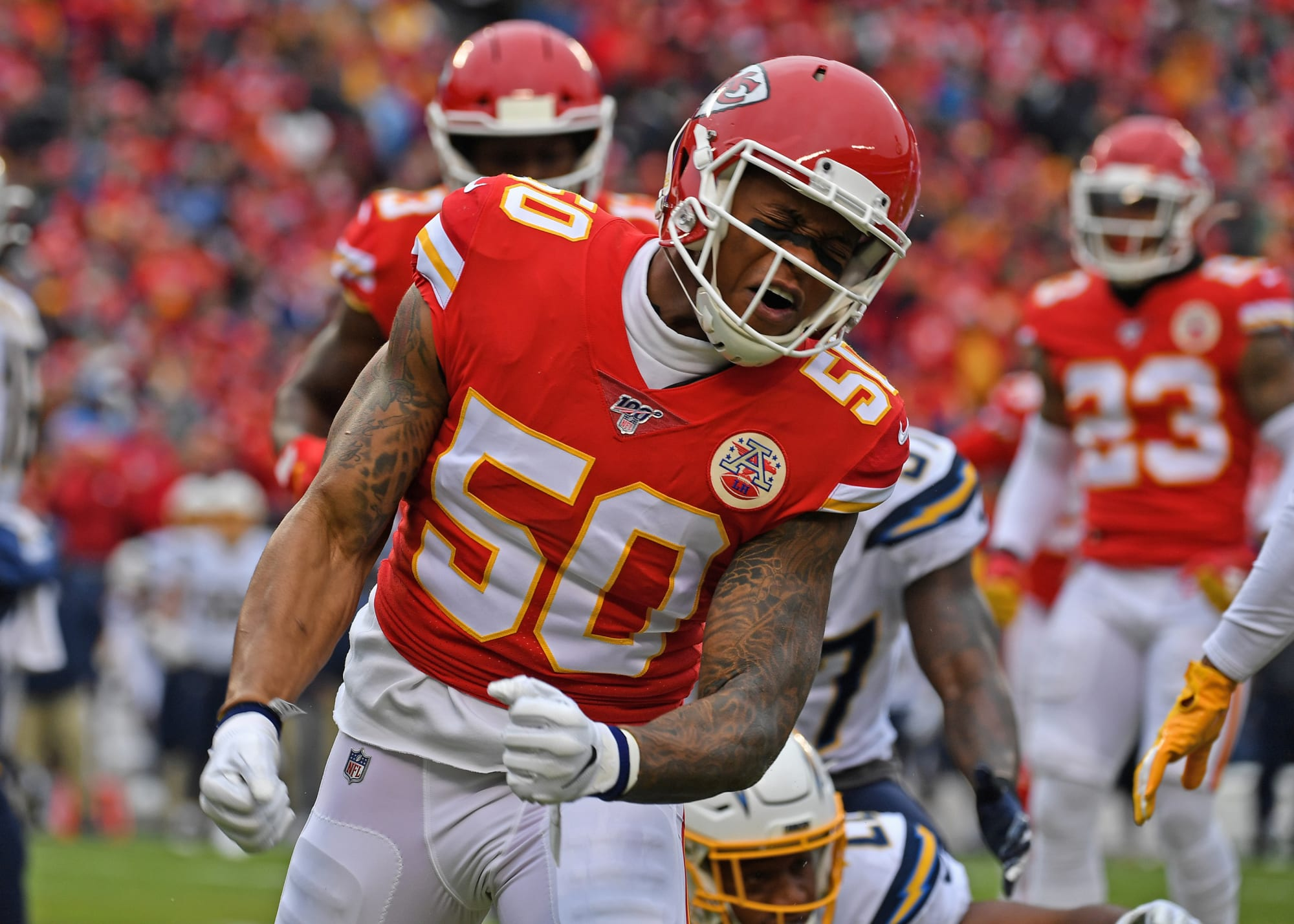 Two former KC Chiefs land with Las Vegas Raiders