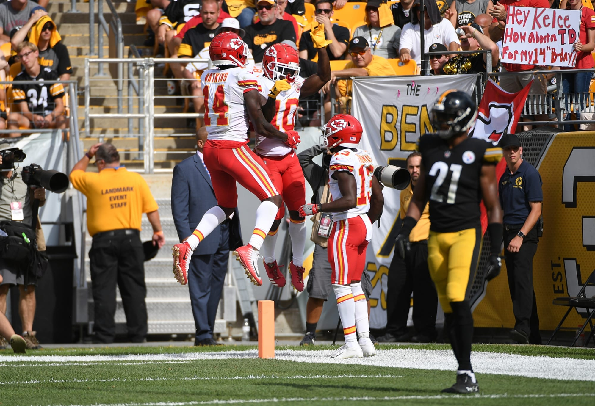 Could the Kansas City Chiefs have trio of 1,000-yard receivers?