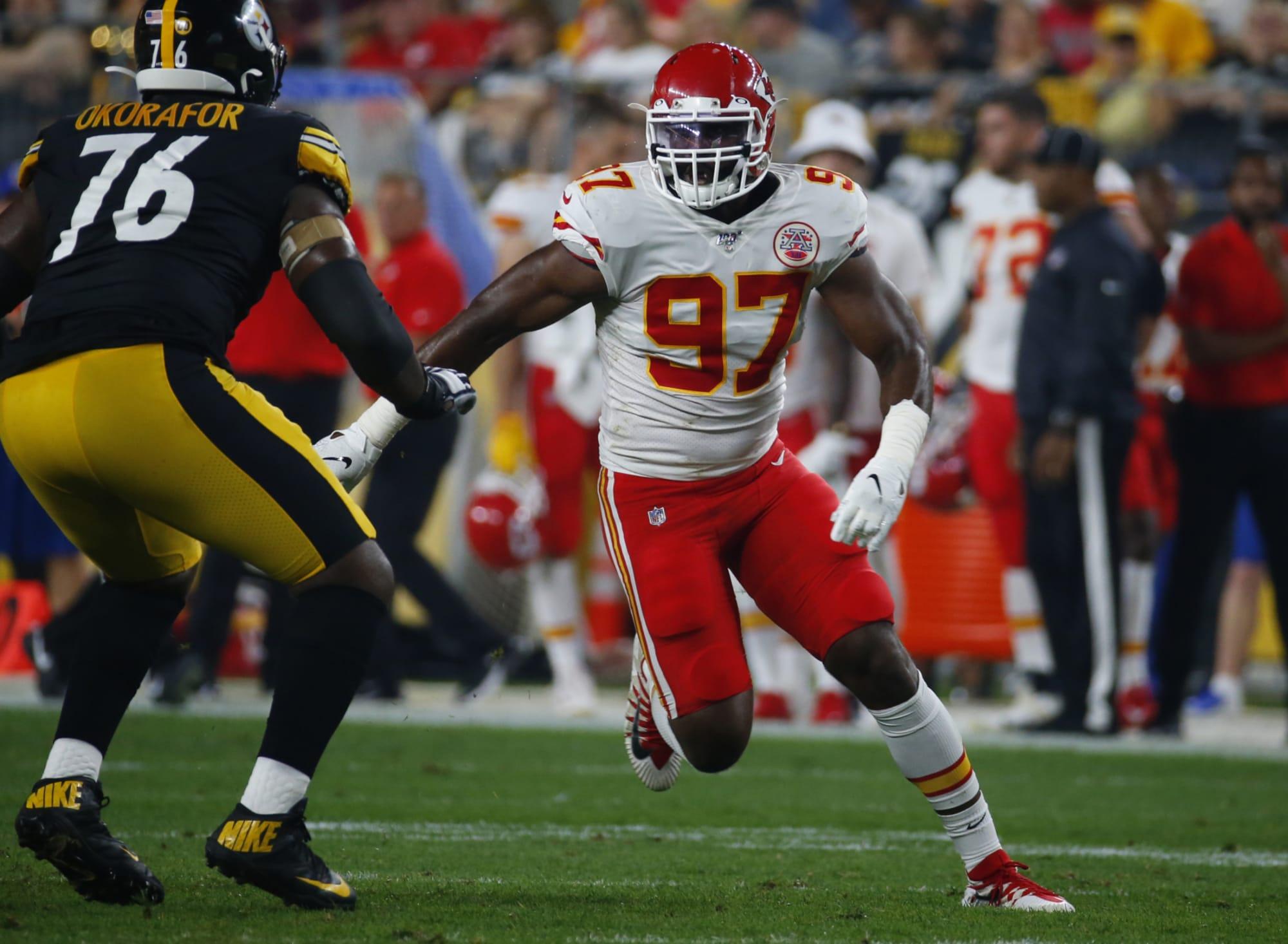 Alex Okafor's injury history presents Chiefs with slight concerns