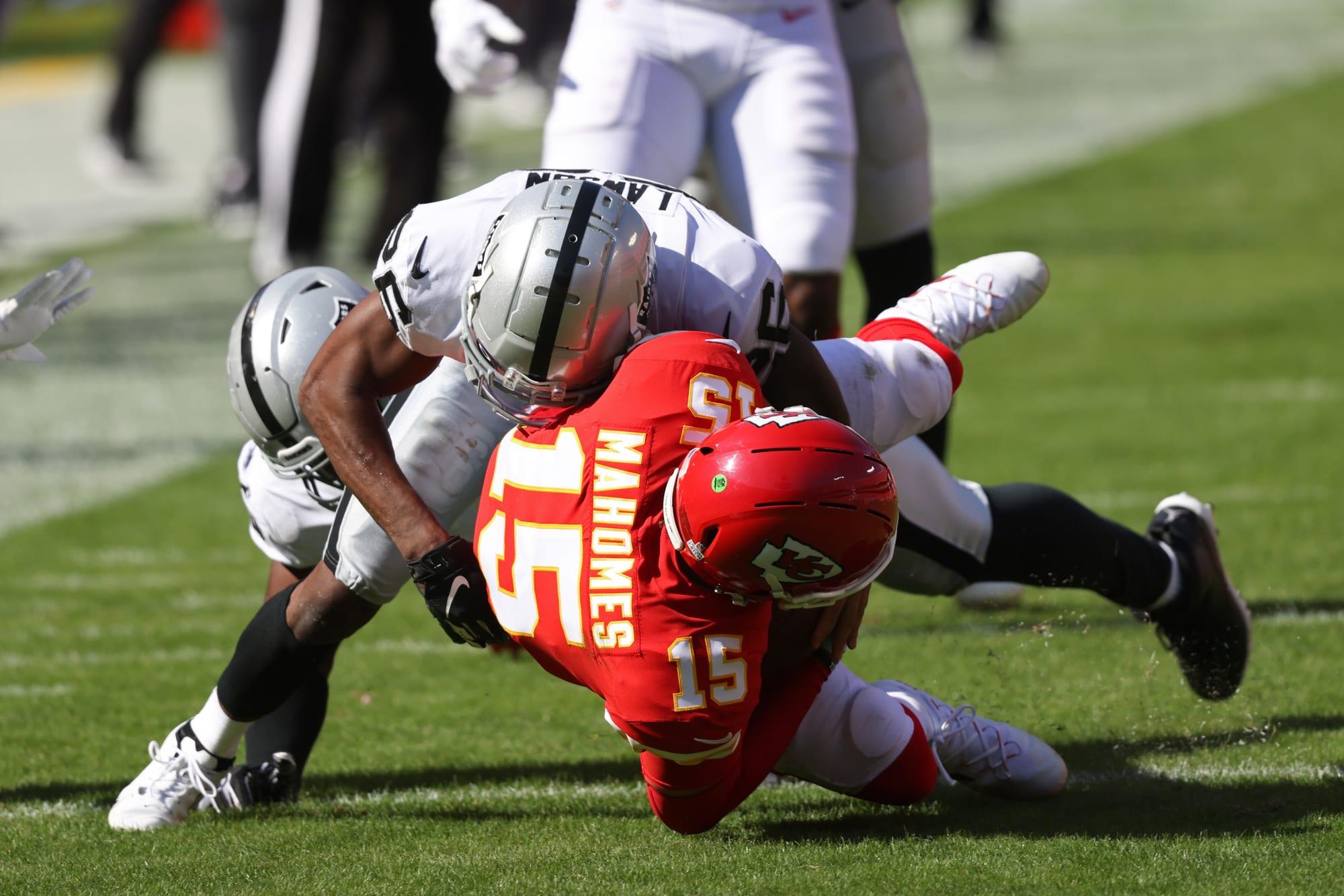 Around the AFC West: Raiders end the Chiefs win streak in Week 5