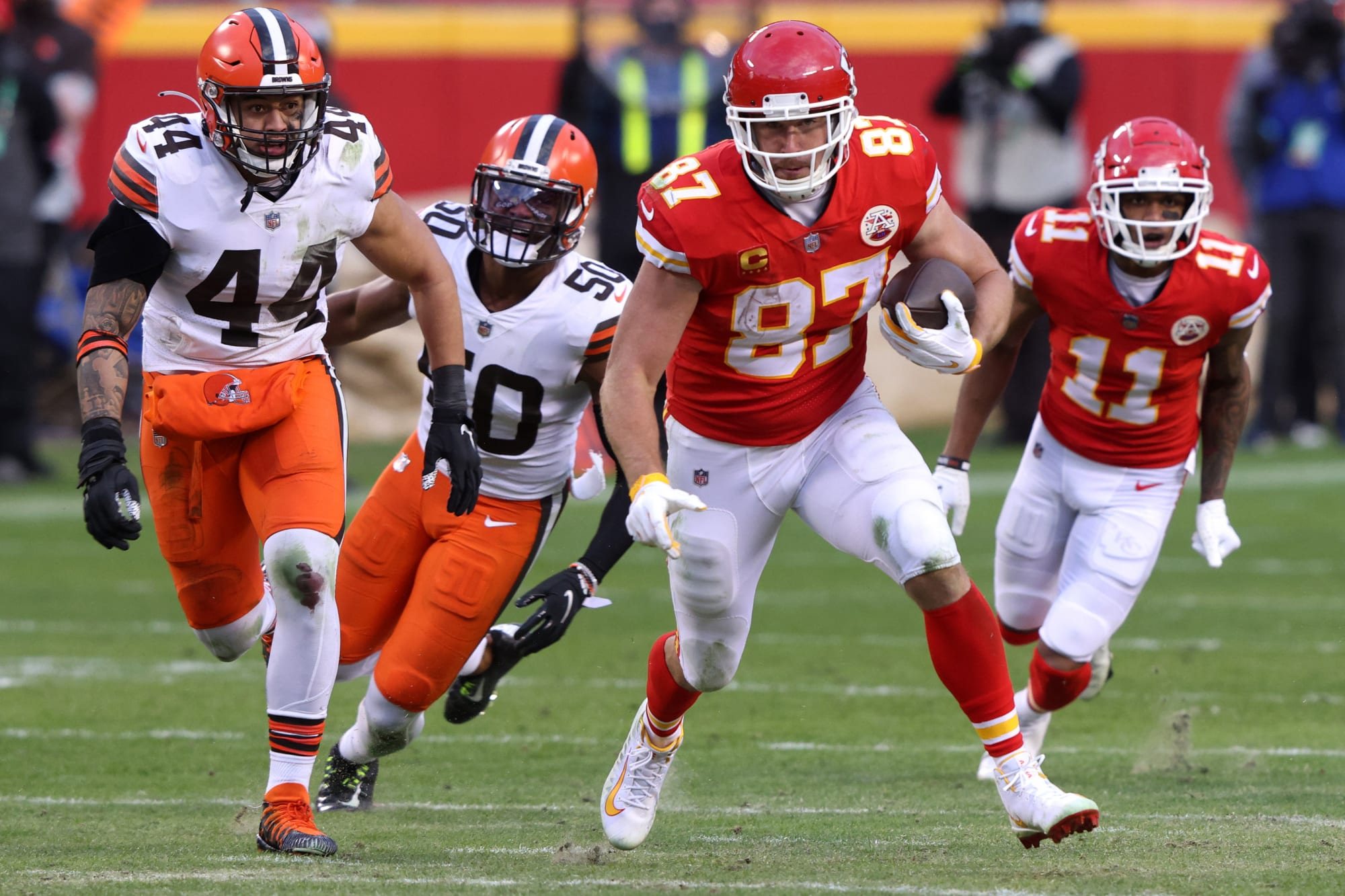 Travis Kelce has plenty of respect for Cleveland Browns' resurgence