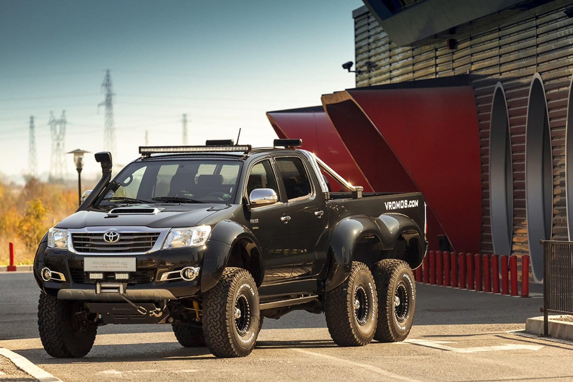 Kekurangan Toyota 6X6 Harga
