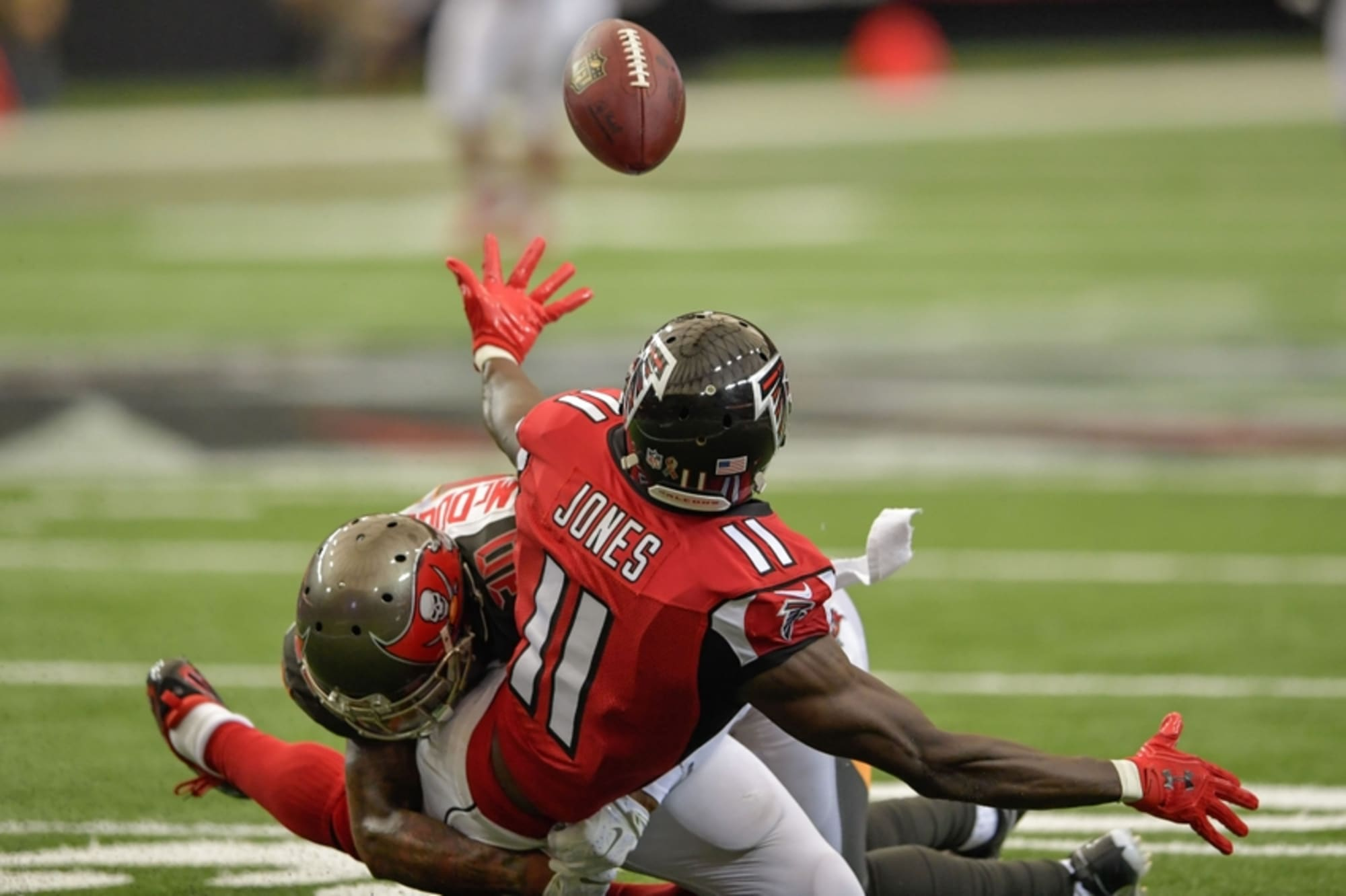 Julio Jones Dropped The Game Winning Touchdown Falcons Vs Eagles Nfl Divisional Game Highlights Youtube
