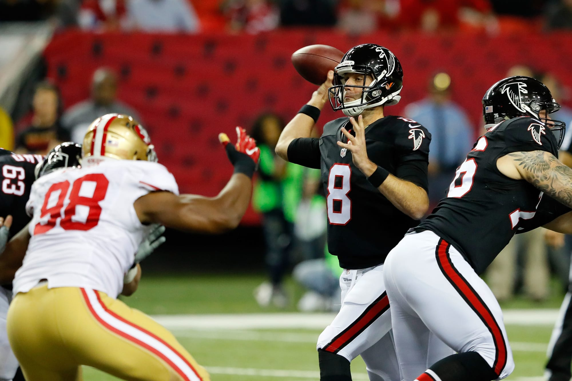 Atlanta Falcons Make Mistake Extending Backup Quarterback Matt Schaub