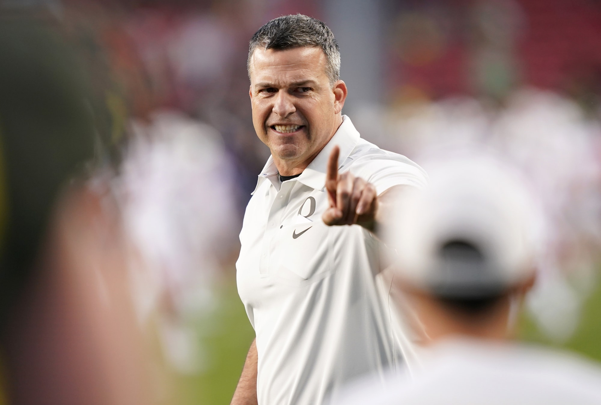"""Mario Cristobal says chances of Justin Flowe breakout are """"extremely high"""""""