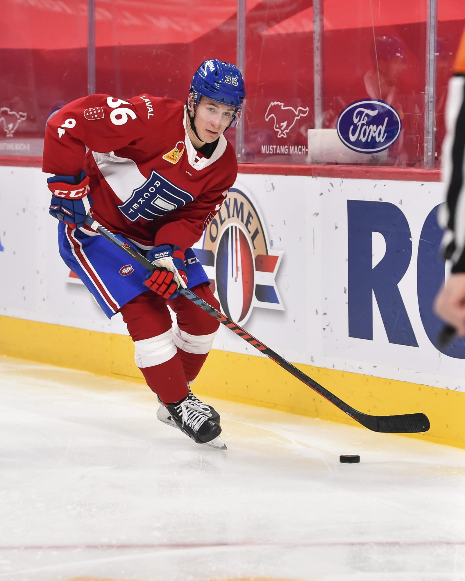 Montreal Canadiens: Watch Gianni Fairbrother Score First Pro Goal