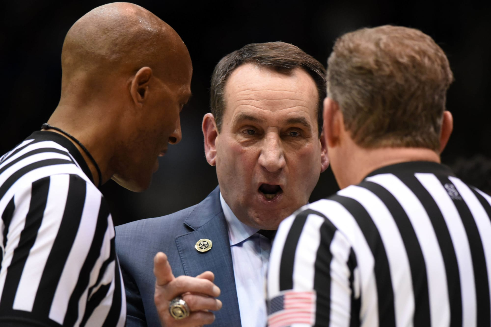 Duke basketball head coach Mike Krzyzewski should take blame for loss