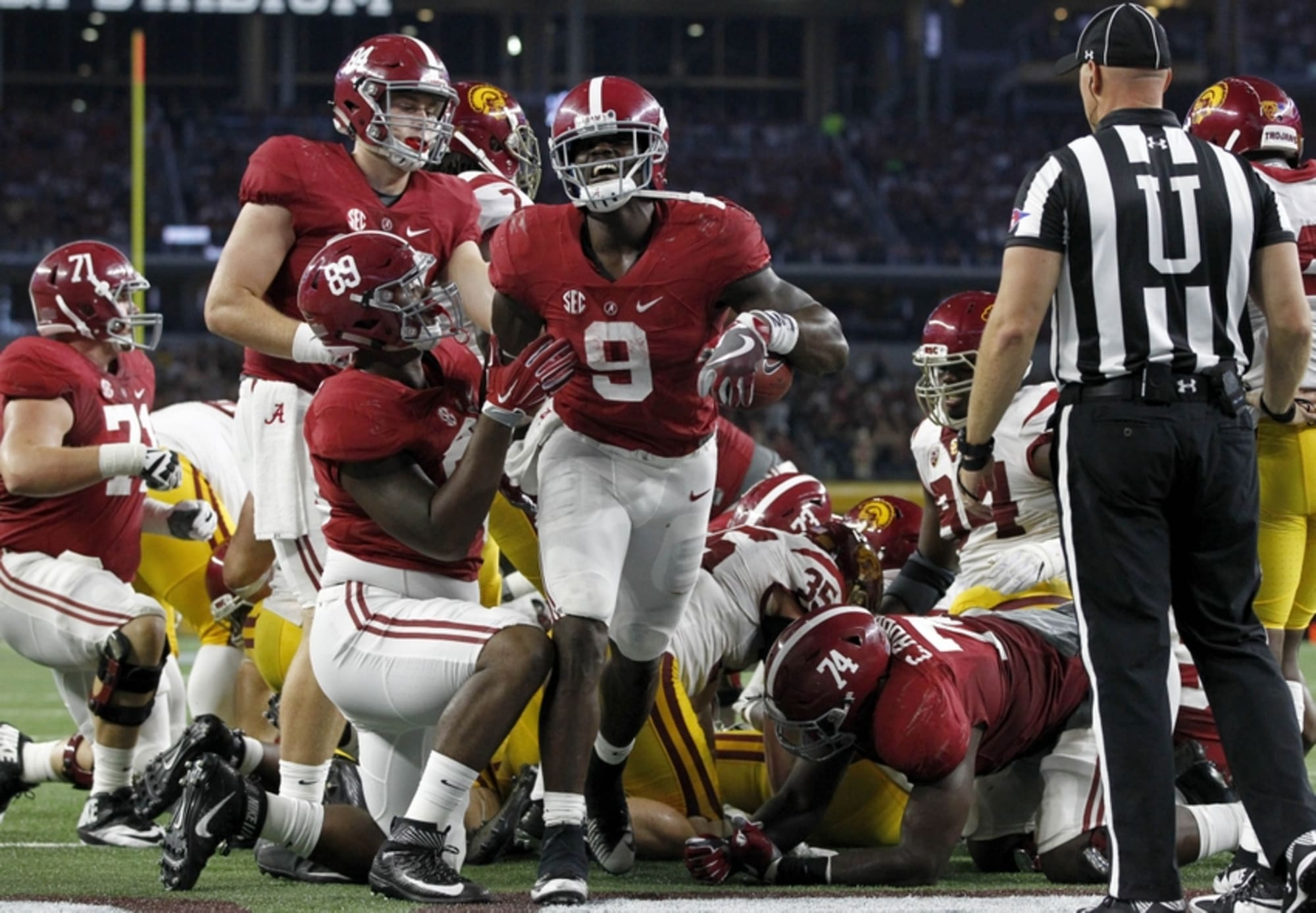 Alabama Football: Wasn't Bo Scarbrough ...