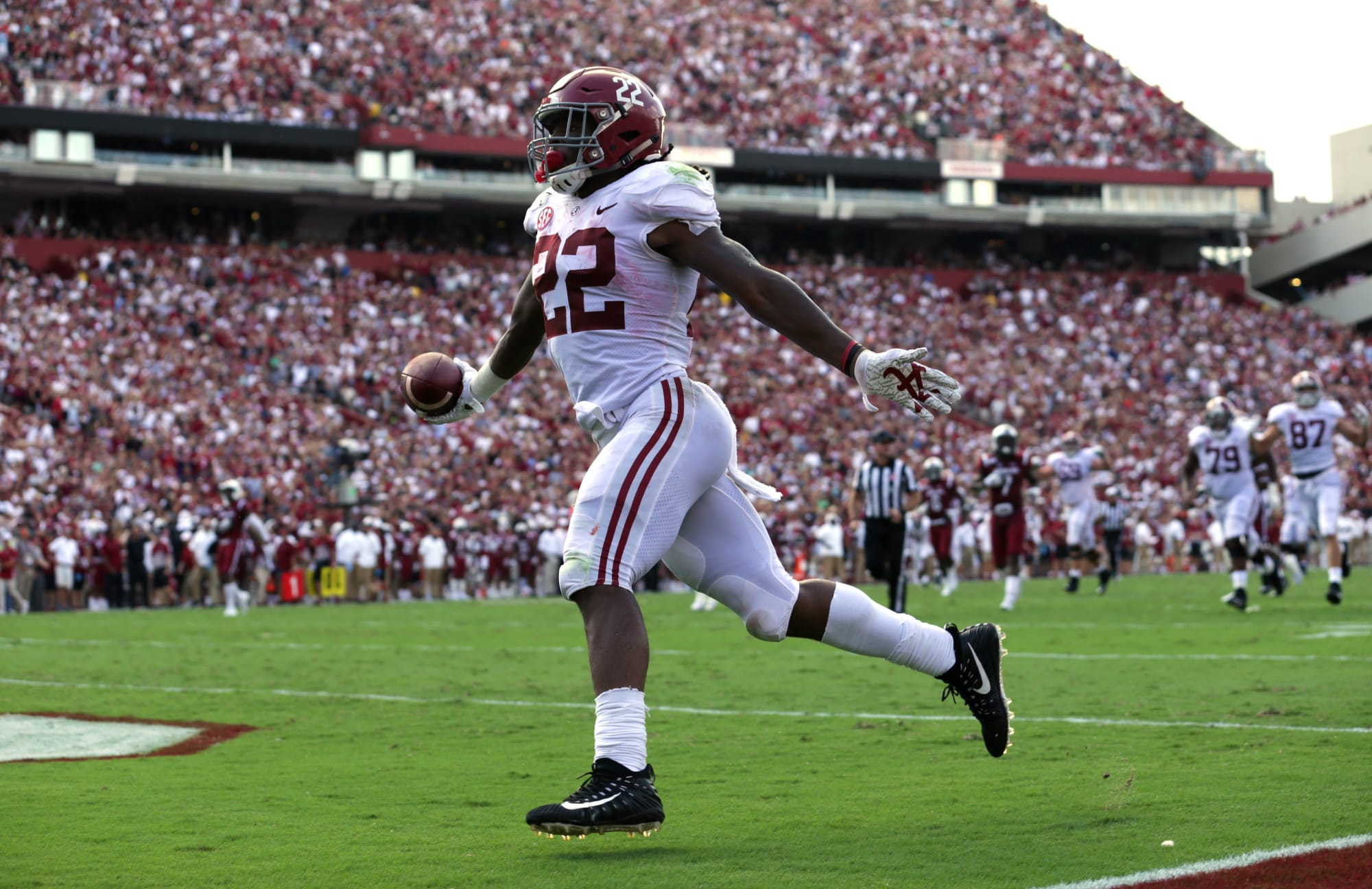 Alabama Football: Where will Najee Harris end up on all-time Tide RB list?