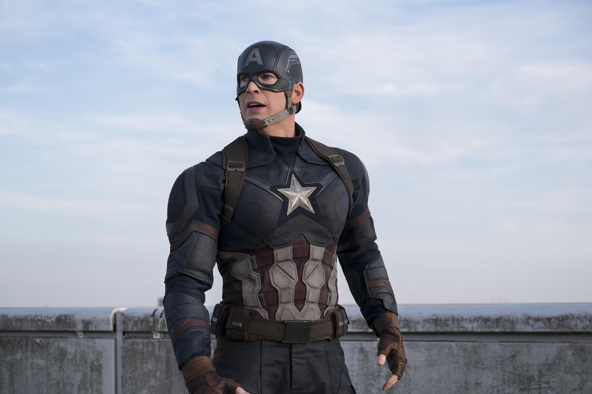 Chris Evans returns as Captain America in stunning new Marvel poster