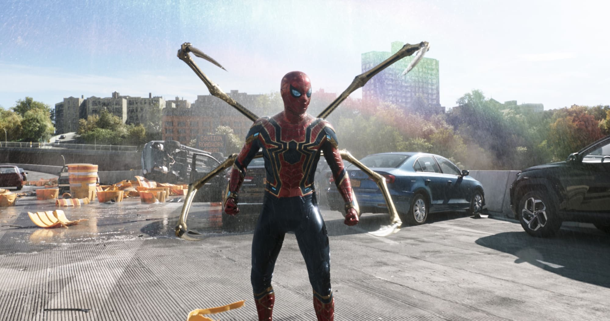 Spider-Man 3: All three Spider-Men unite in astonishing new No Way Home trailer