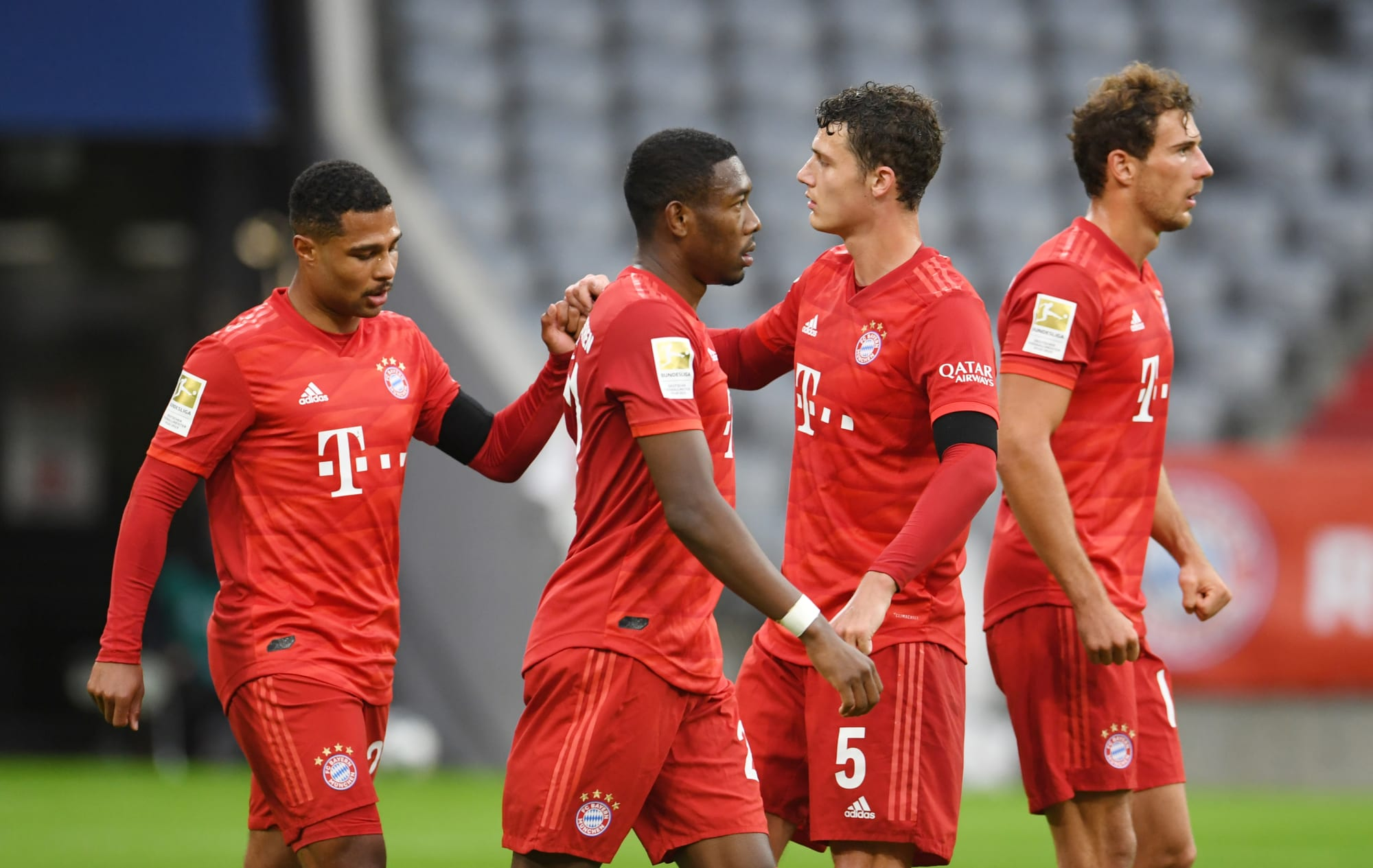 Bayern Munich see out Eintracht Frankfurt at Allianz Arena