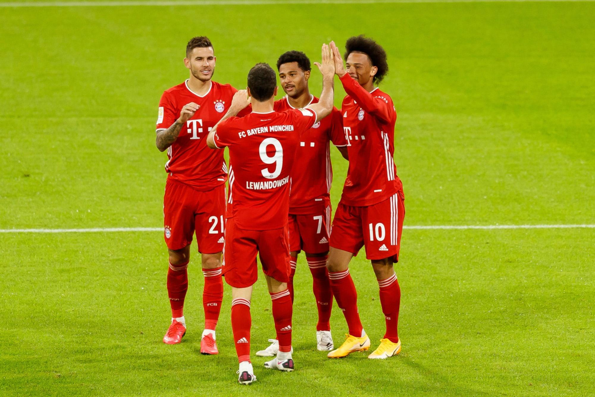 Bayern Munich dismantle Schalke at Allianz Arena