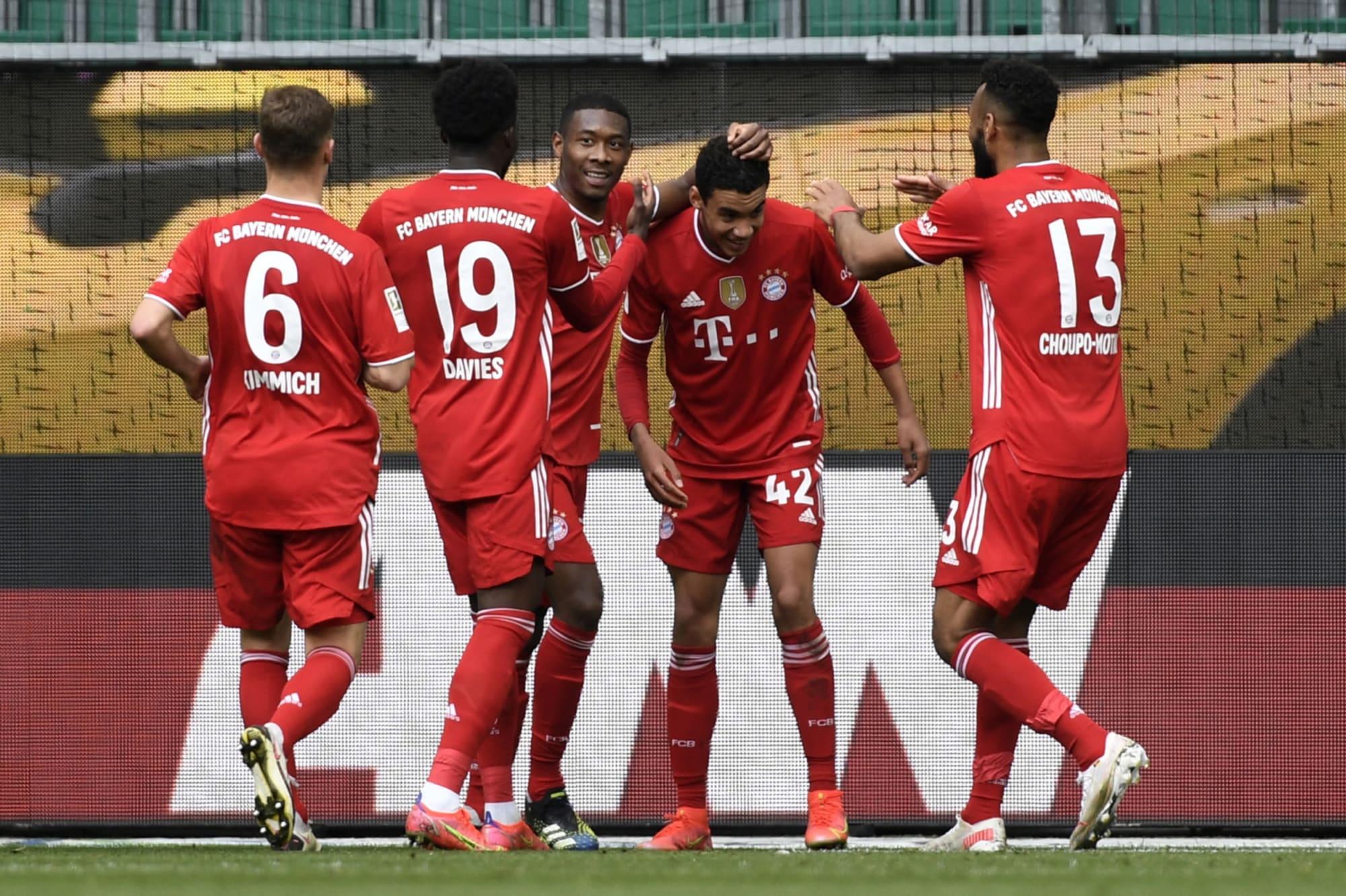 Bayern Munich clinch comfortable win against Wolfsburg-Player Ratings