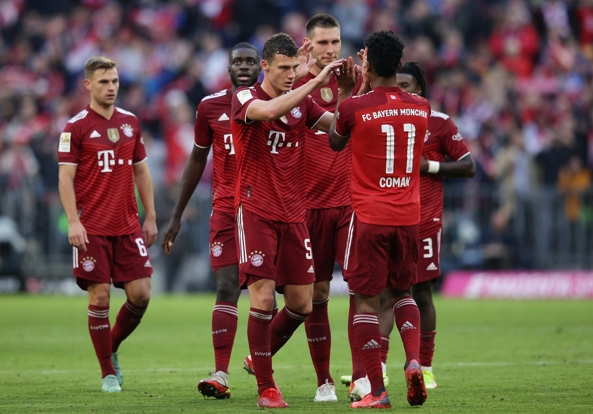 Bayern Munich cruise to victory against Hoffenheim- Player Ratings