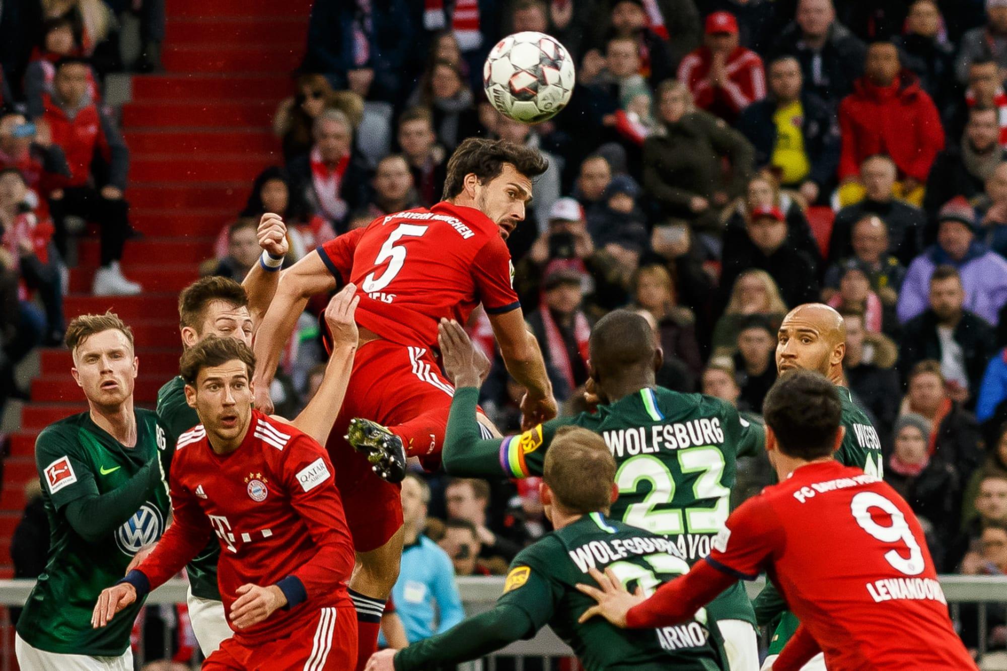 Bayern Vs Wolfsburg