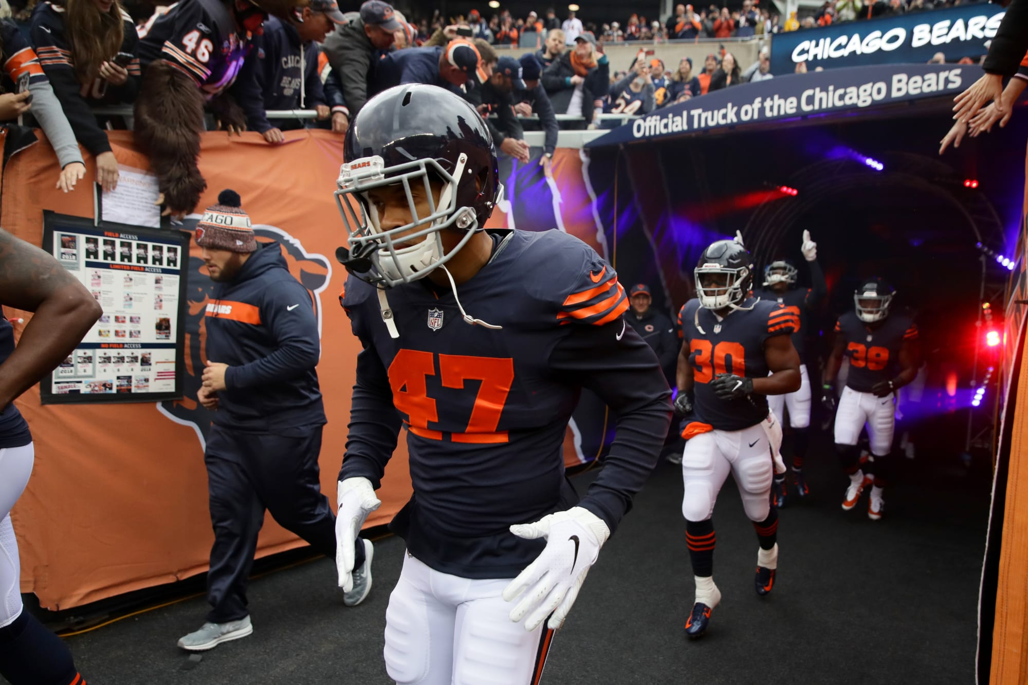 Chicago Bears Offseason Stock Watch: Isaiah Irving