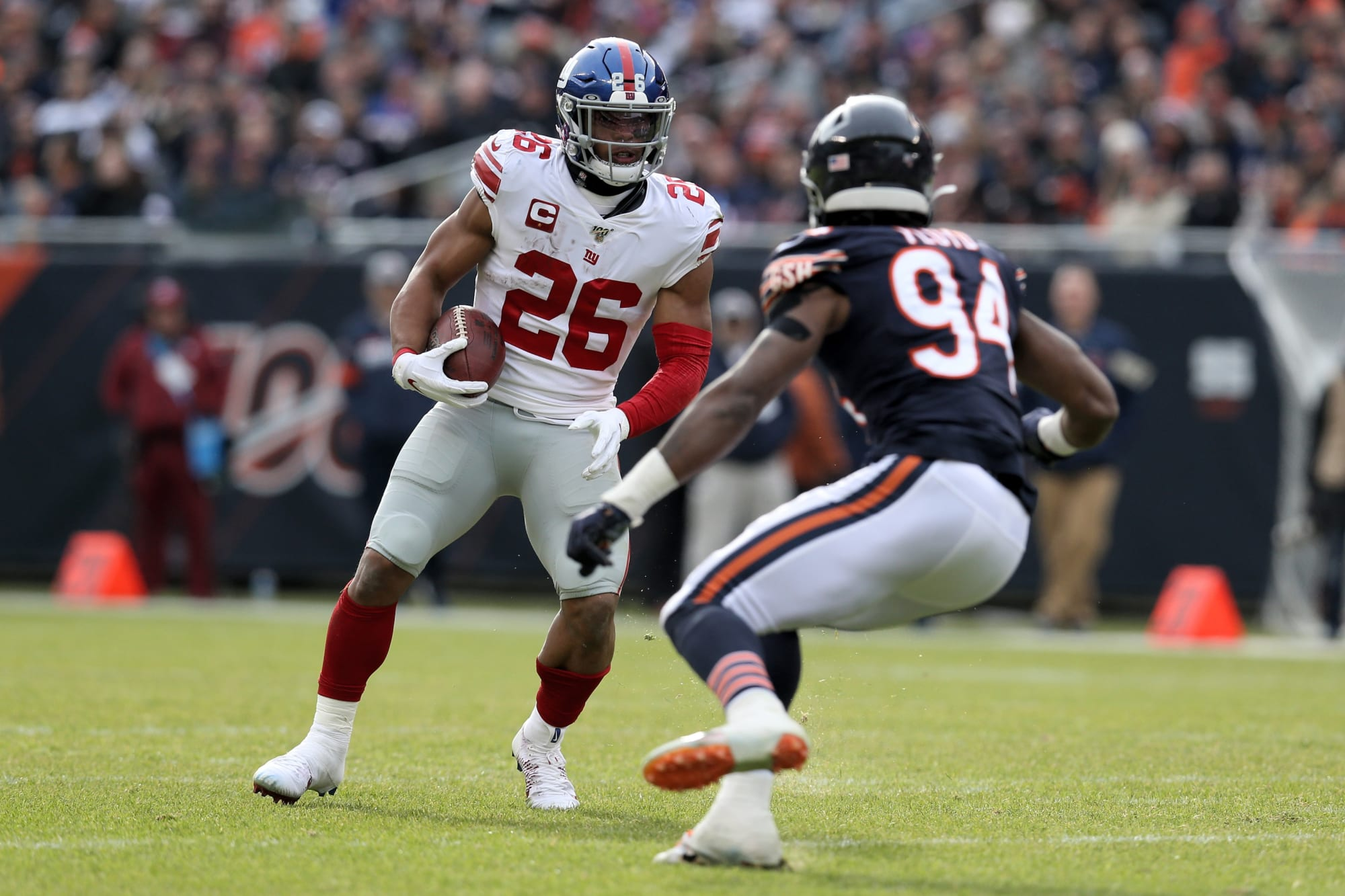 Chicago Bears must expose Saquon Barkley's weakness
