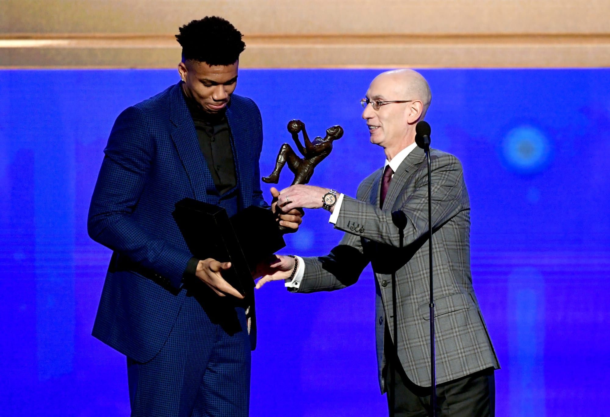 Giannis Antetokounmpo named 2019-20 NBA Most Valuable Player