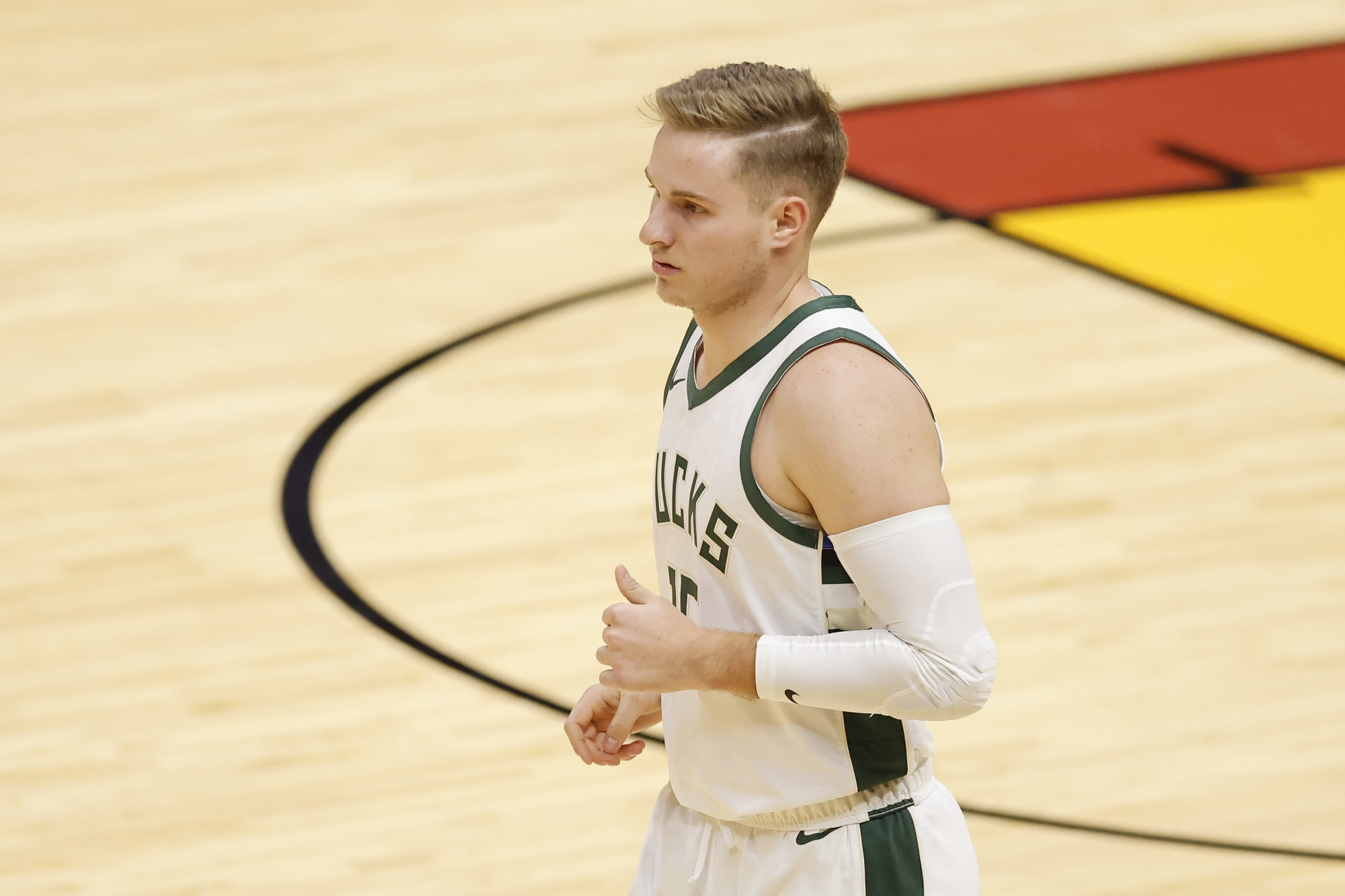 Milwaukee Bucks: Sam Merrill searching for rhythm while on assignment