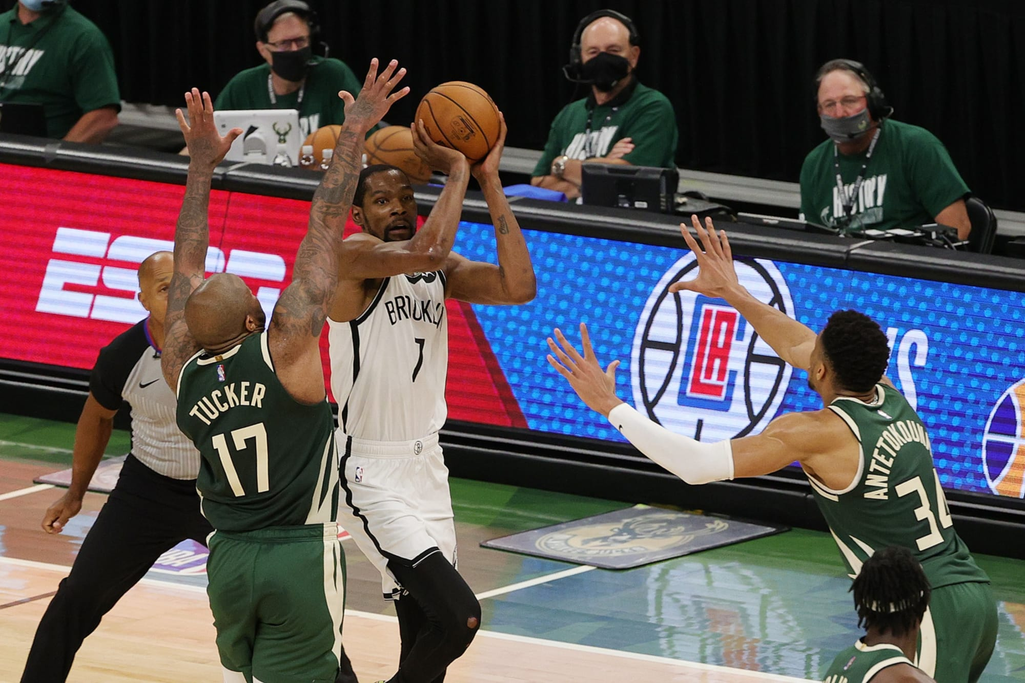 Milwaukee Bucks: Is P.J. Tucker the answer in defending Kevin Durant?