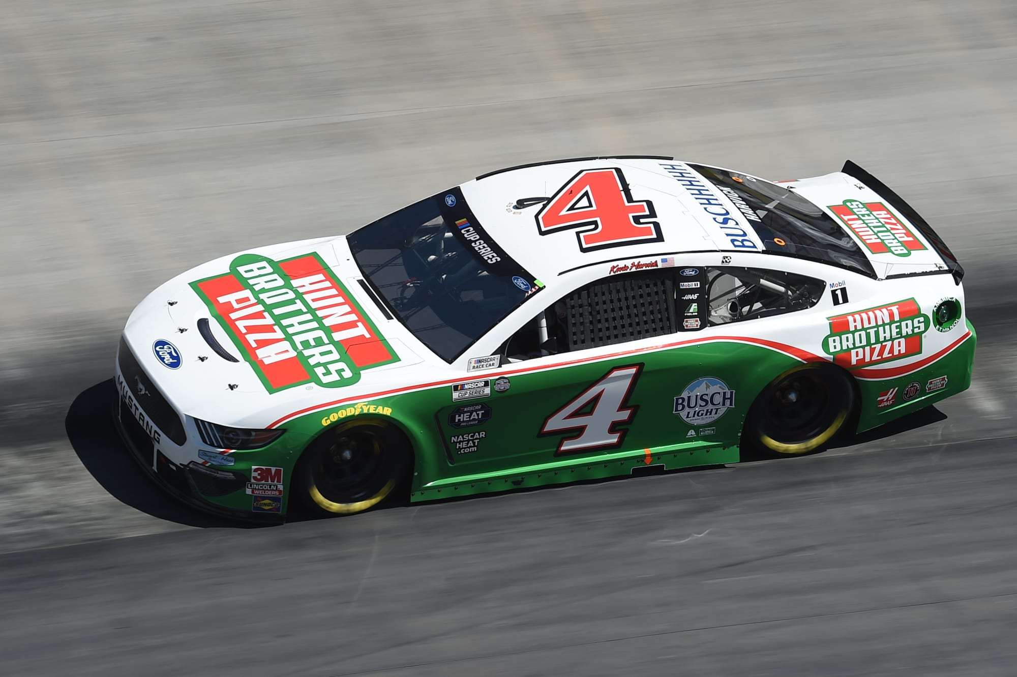 NASCAR: Kevin Harvick's incredible streak comes to an end at Bristol