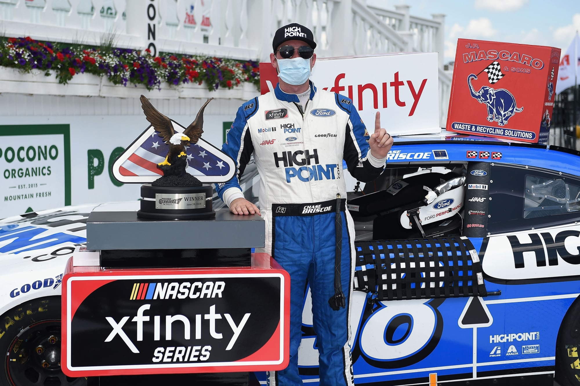 NASCAR: Resilience has defined Chase Briscoe's 2020 season