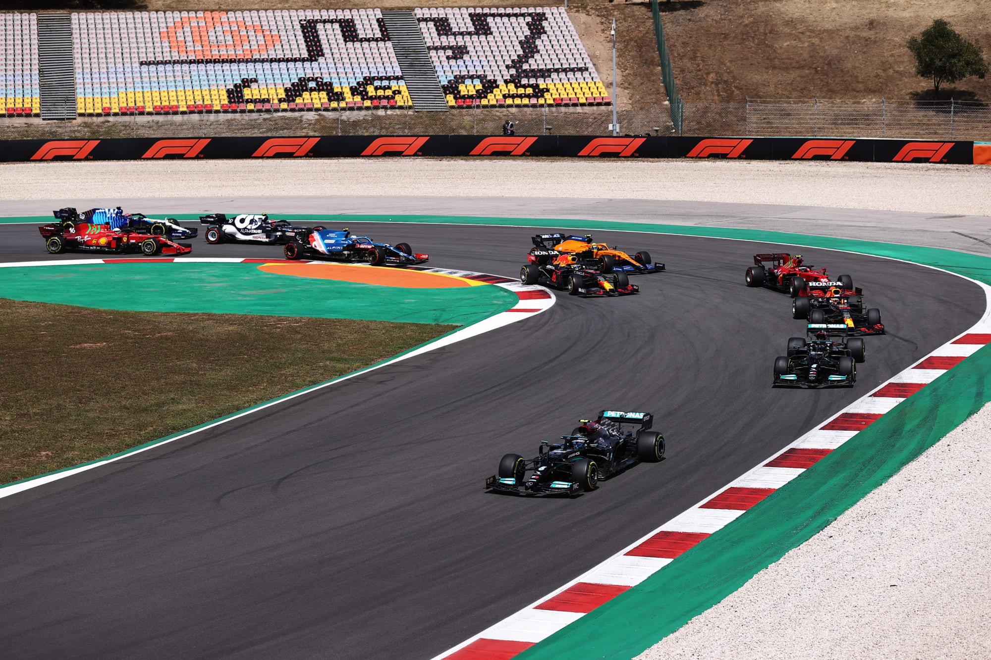 Formula 1: Very few exciting moments from dull Portimao race