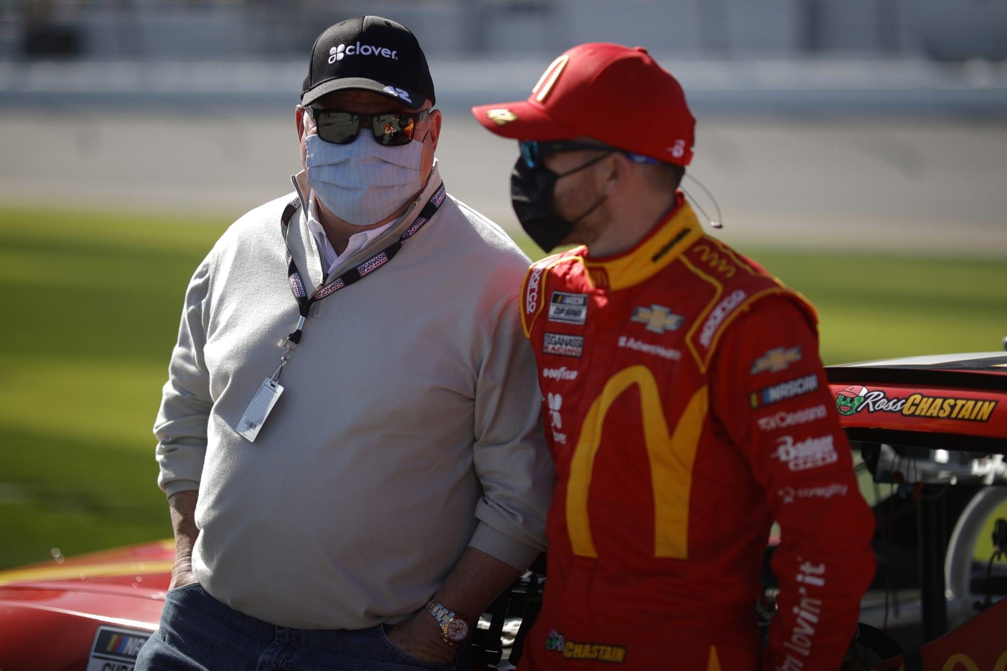 NASCAR: Chip Ganassi's suspension takes a strange turn