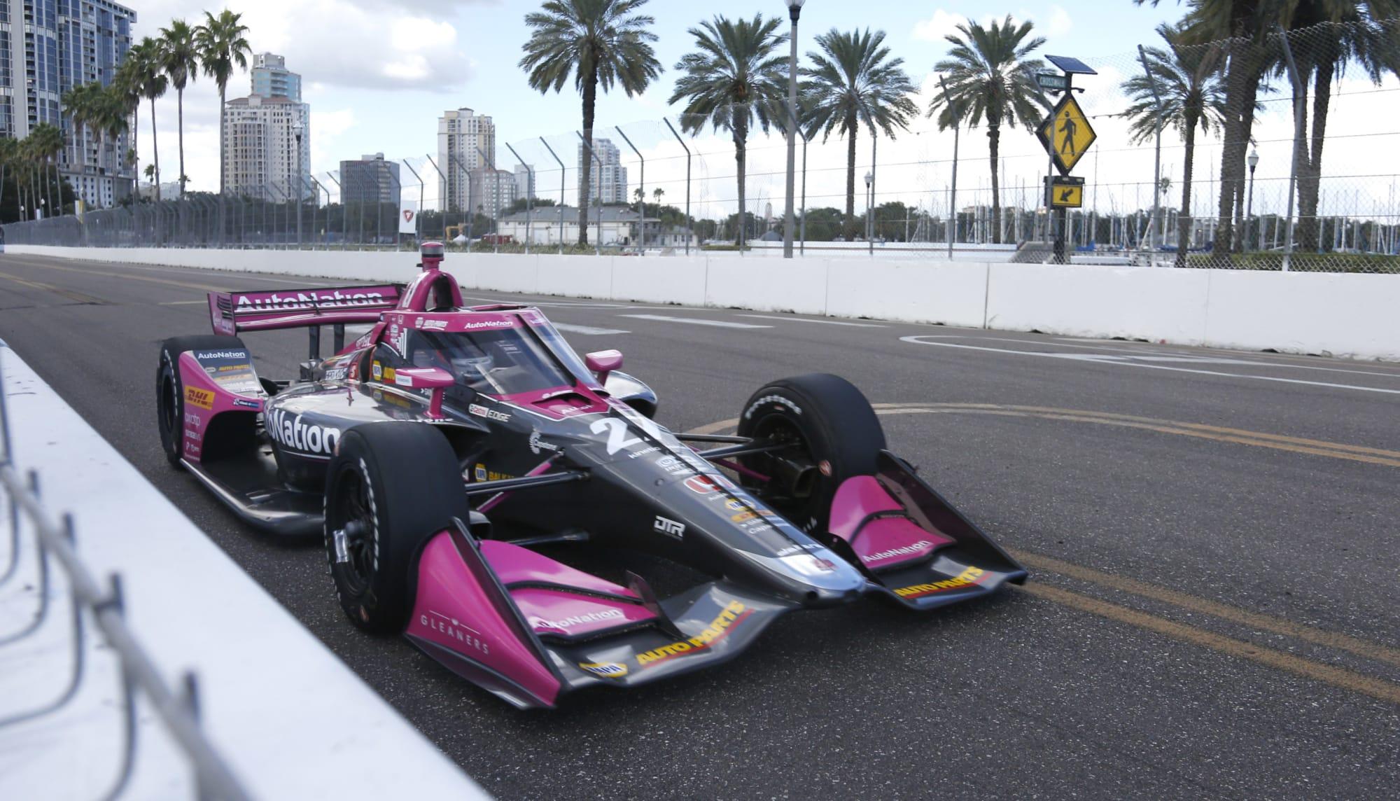 IndyCar: Alexander Rossi's impressive streak ends with crash