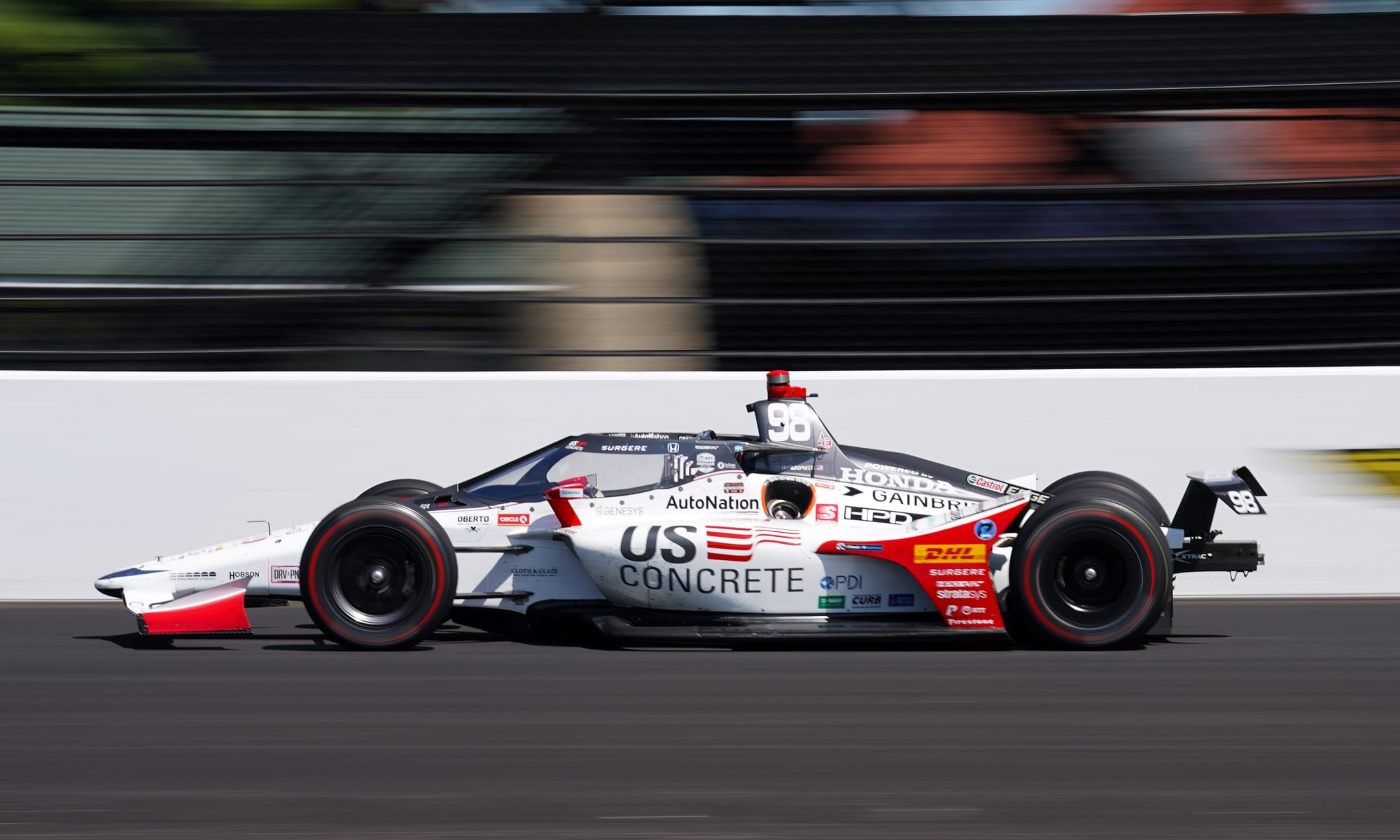 Indy 500: Marco Andretti 'knew we were in trouble' in 2020